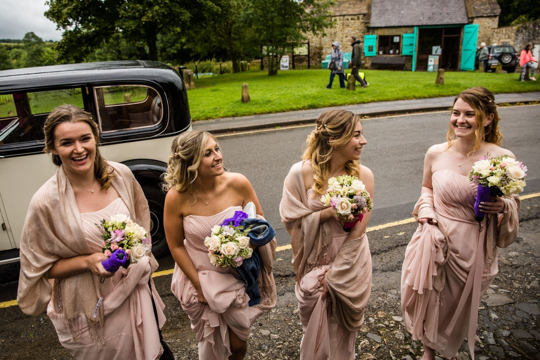 Eyam Hall Natural Wedding Photographs