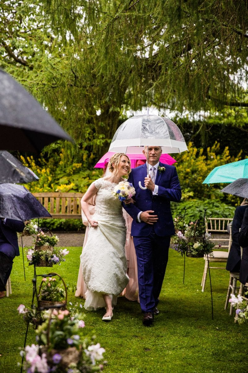 Eyam Hall Outdoor Ceremony Photographer