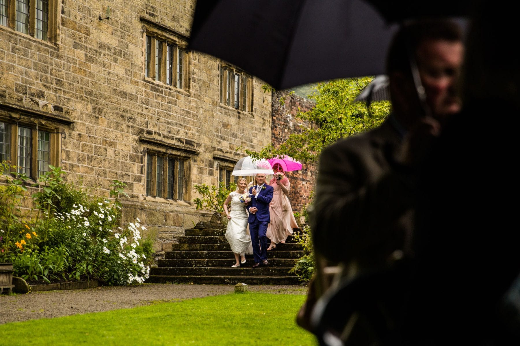 Eyam Hall Outdoor Ceremony Photography