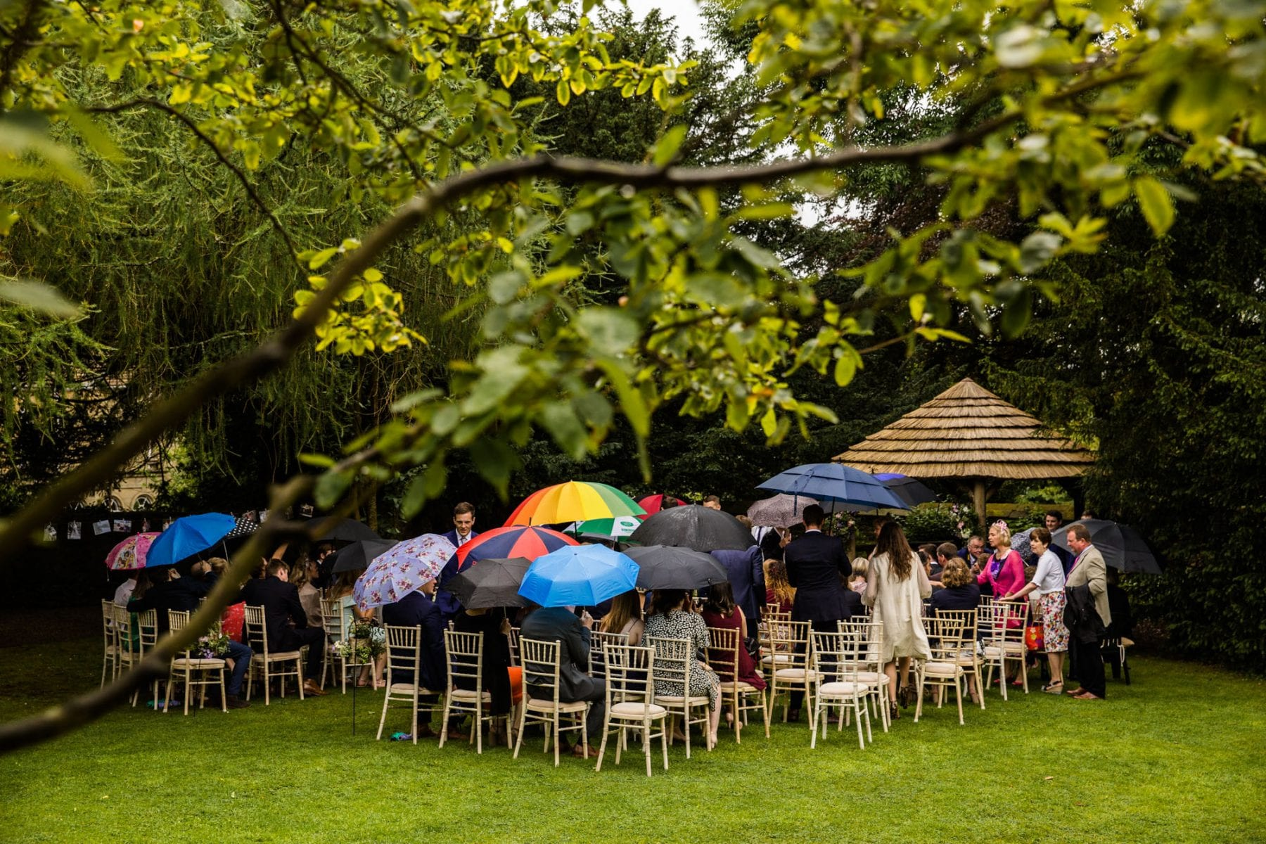 Eyam Hall Outdoor Ceremony