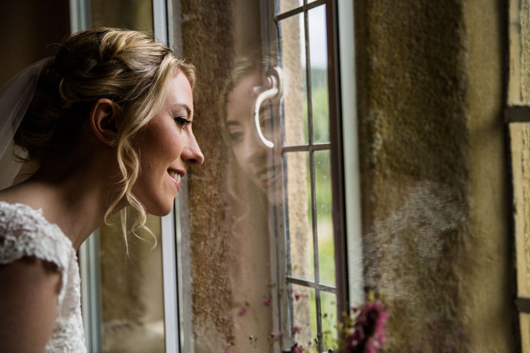 Natural Wedding Photographer Eyam Hall