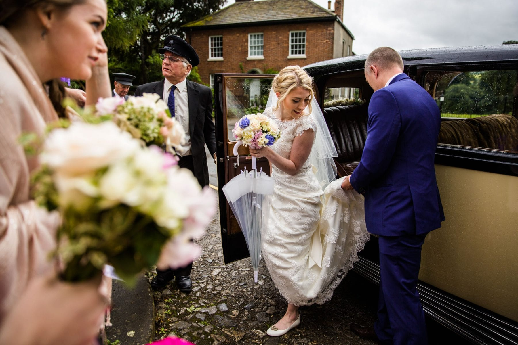 Natural Wedding Photographs Eyam Hall