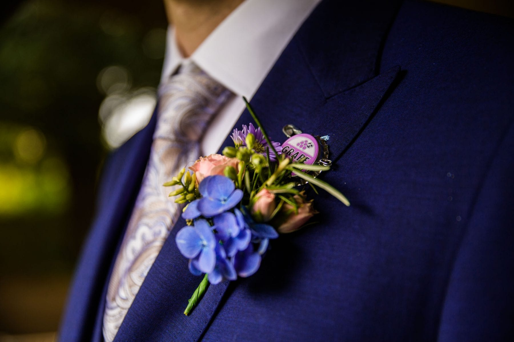 Quirky Wedding Details Eyam Hall