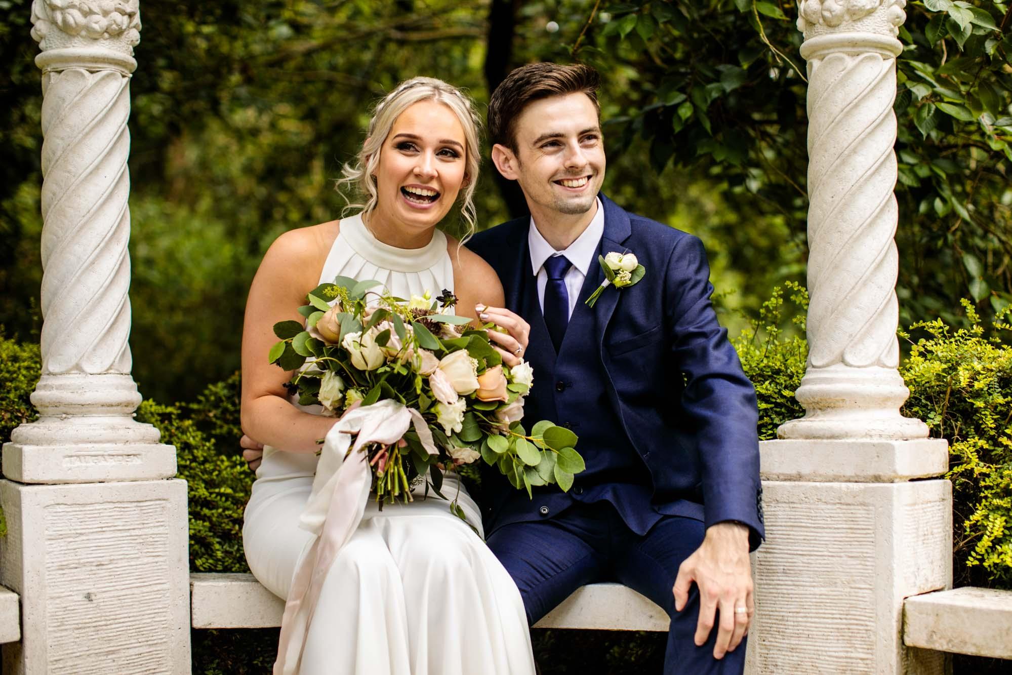 The Mill Barns Colourful Wedding Photos