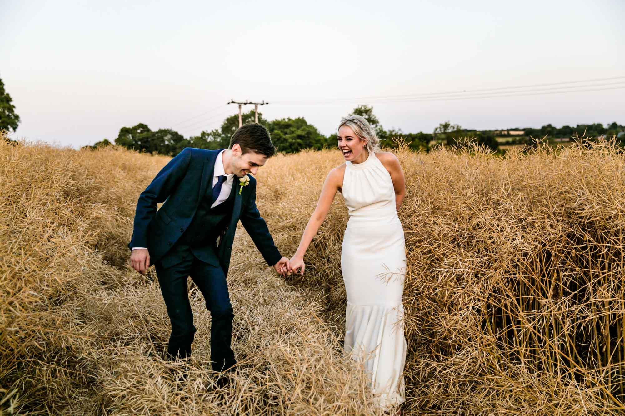 The Mill Barns Fun Wedding Photography