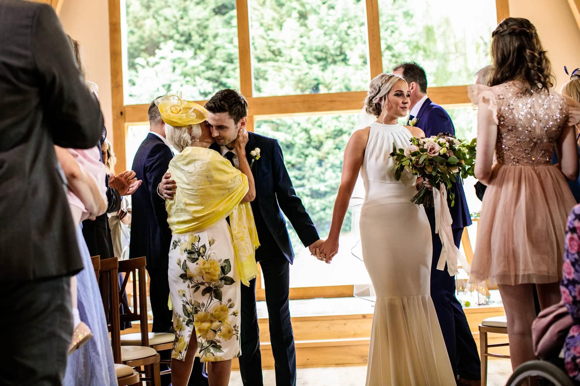 The Mill Barns Wedding Ceremony Photographer