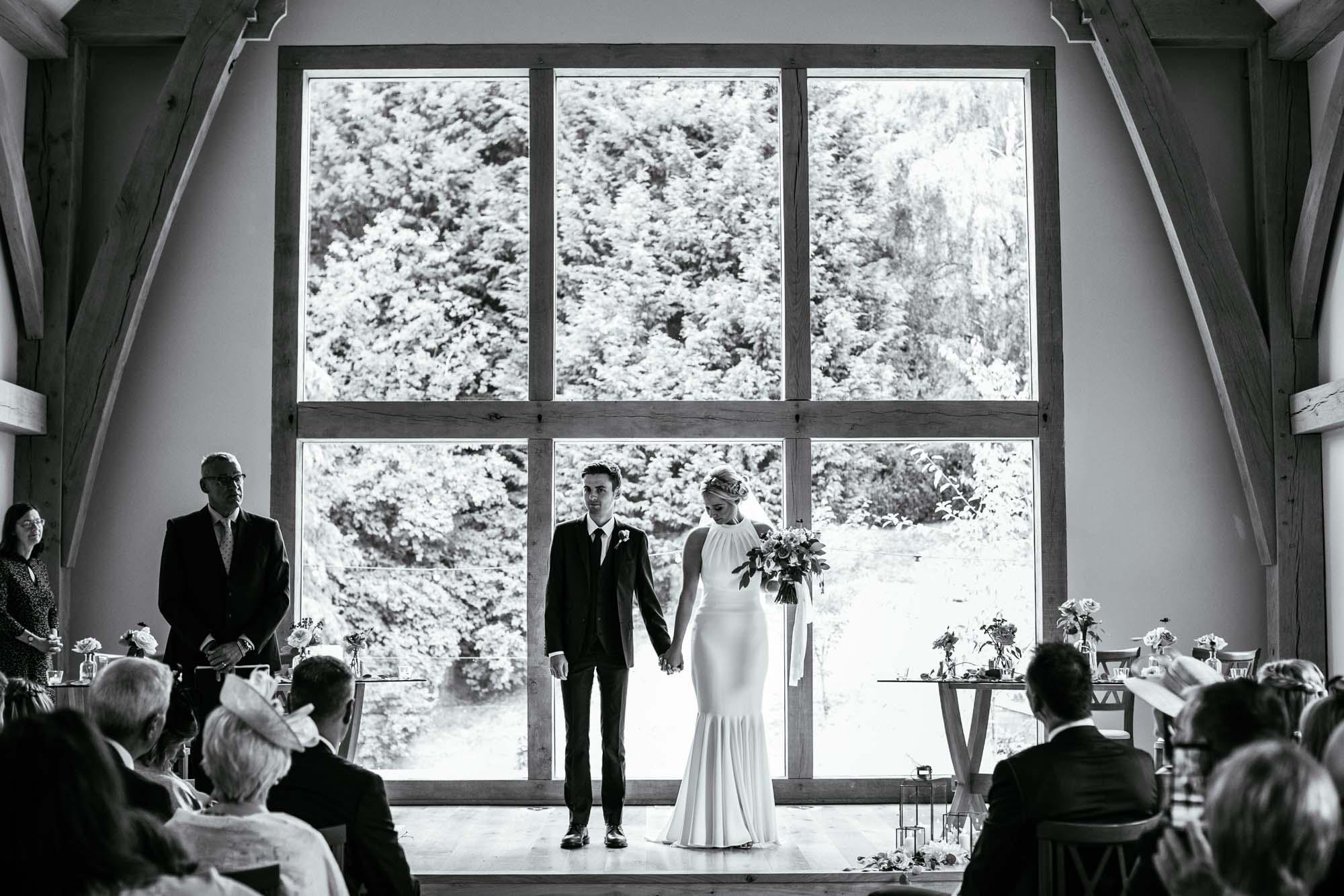 The Mill Barns Wedding Ceremony Photographs
