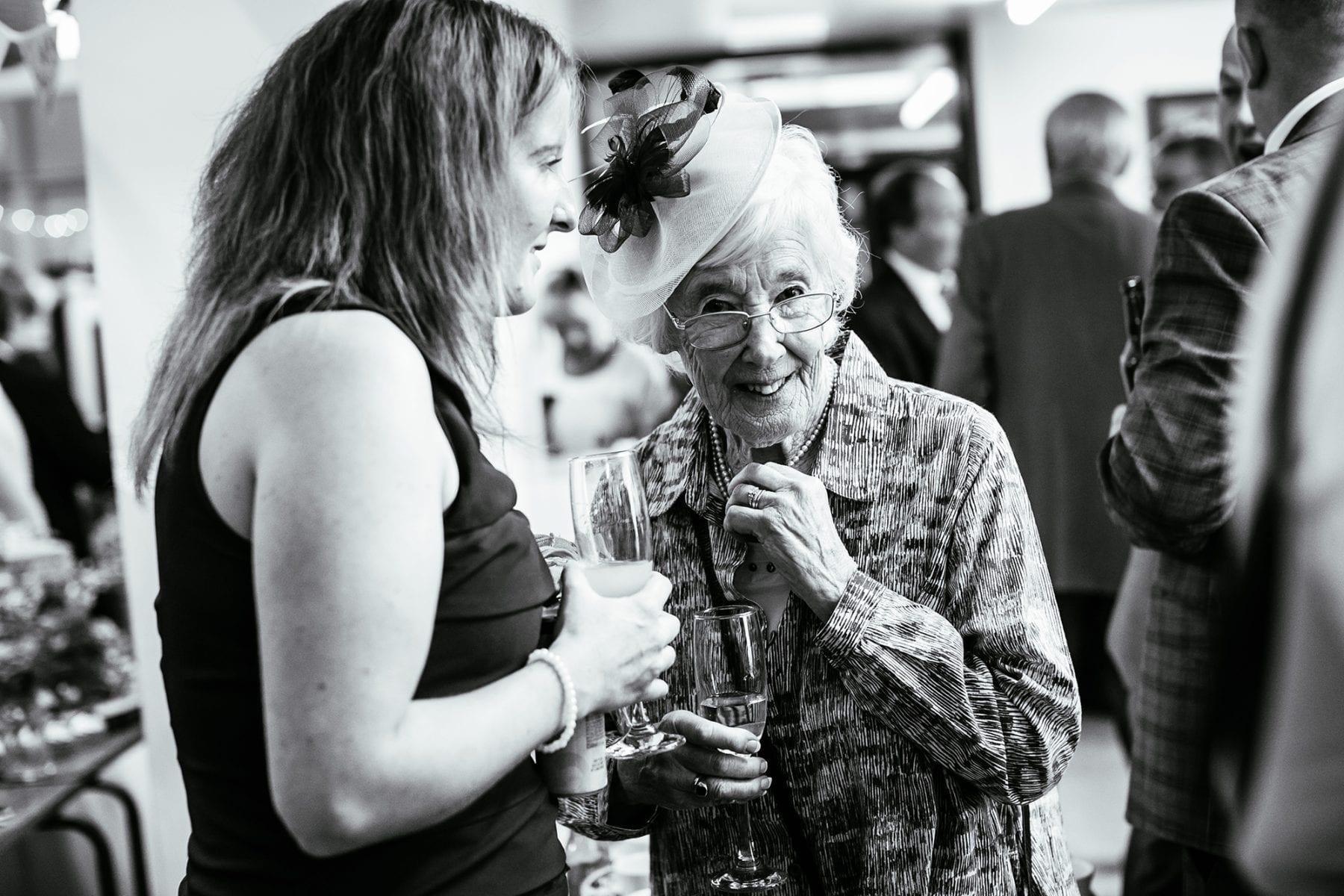 Farndon Memorial Hall Wedding Reception Photographs