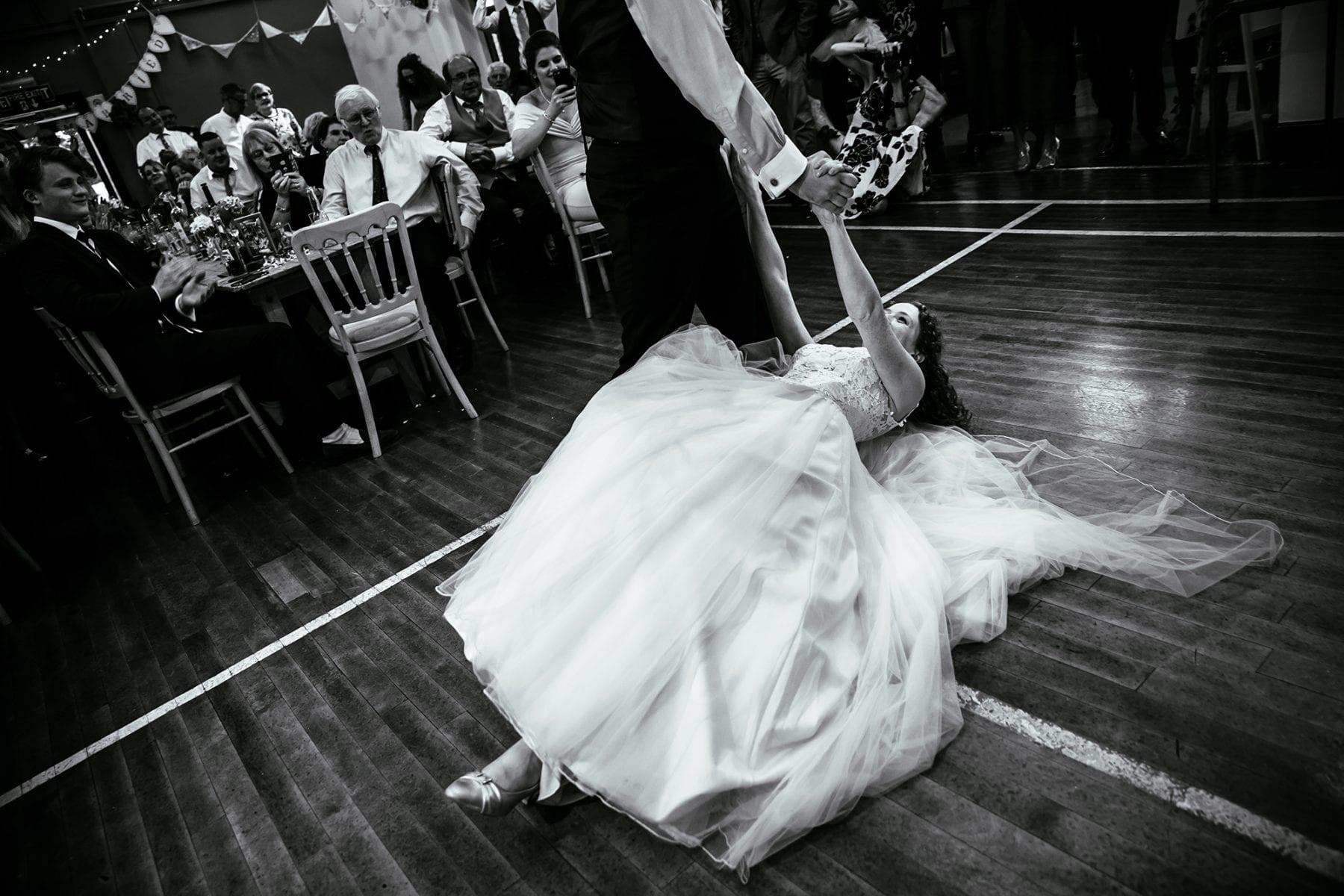 Fun Wedding Photographer Farndon Memorial Hall