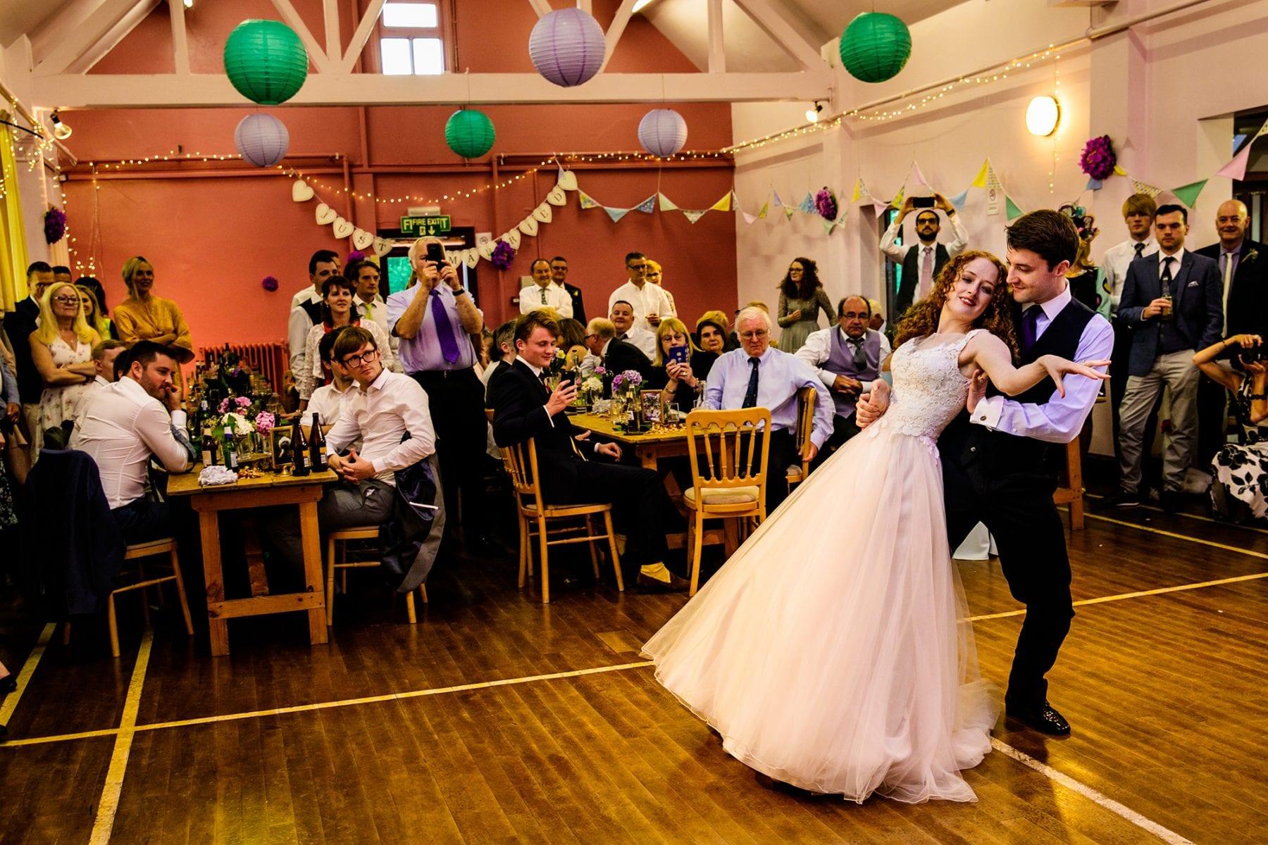 Fun Wedding Photography Farndon Memorial Hall
