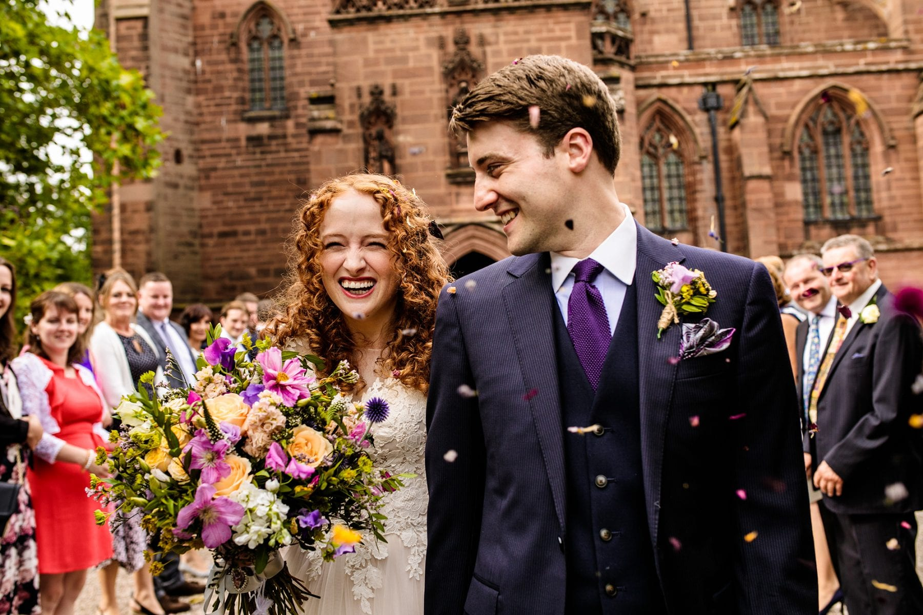 St. Mary's Church Eccleston Wedding Photographer