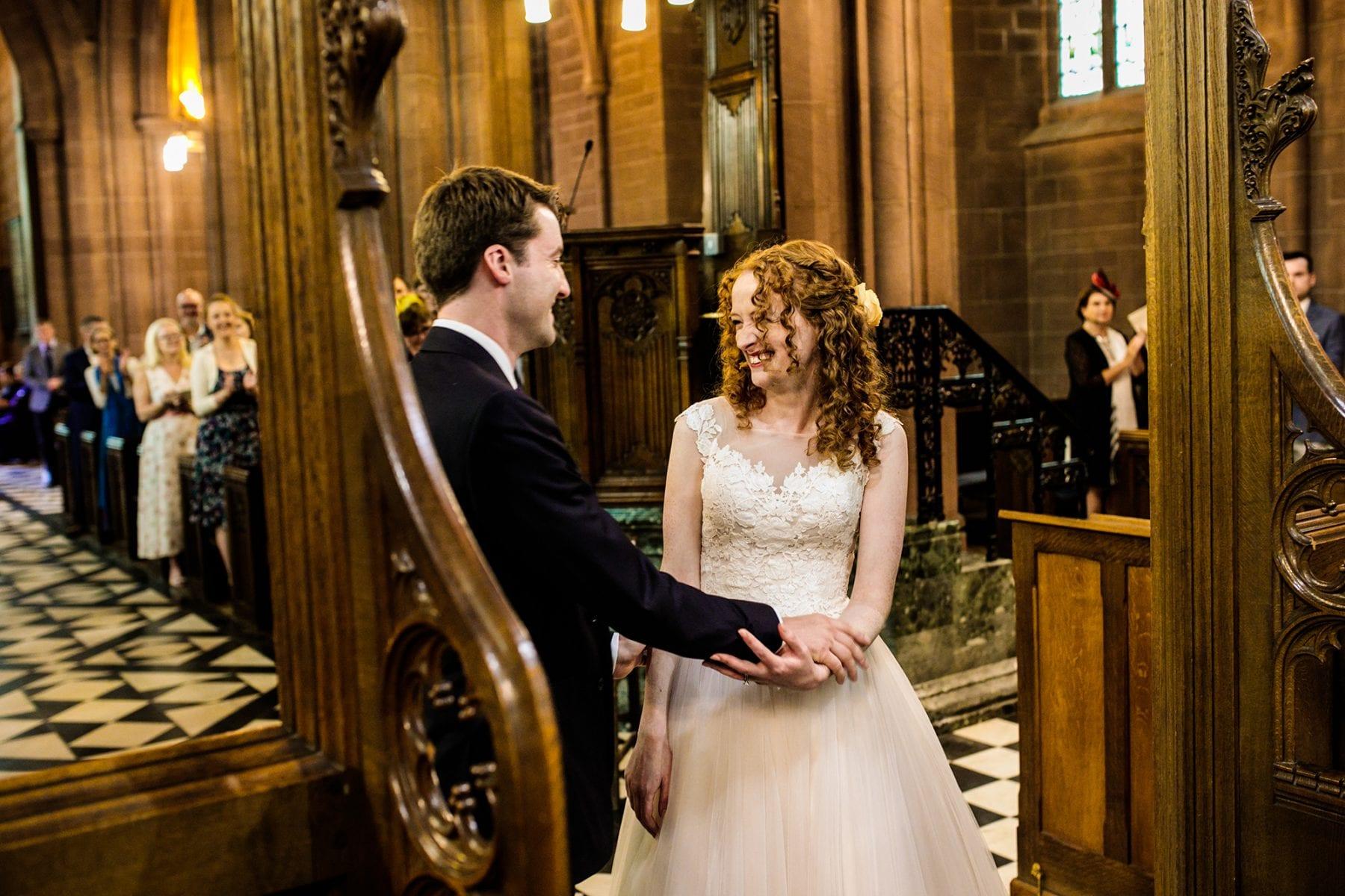 St. Mary's Church Eccleston Wedding Photographs