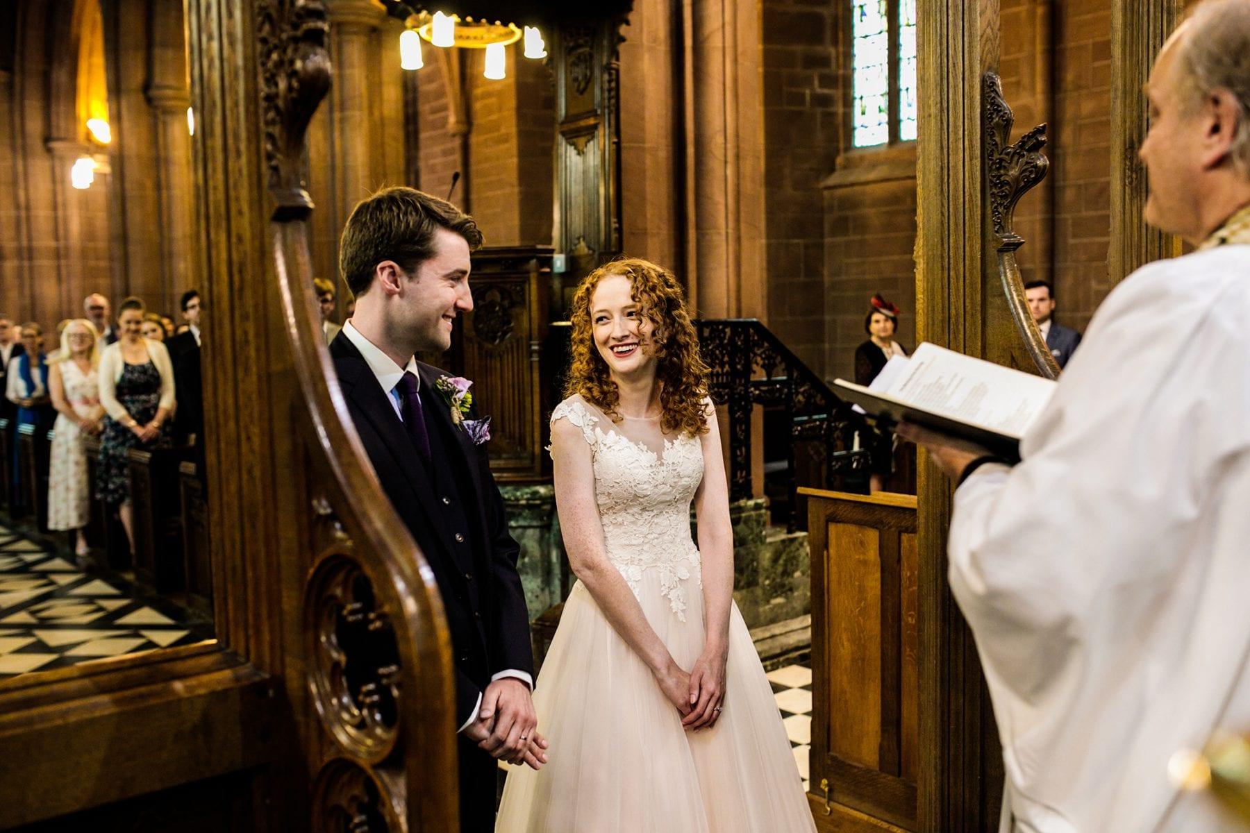 St. Mary's Eccleston Wedding Photographer