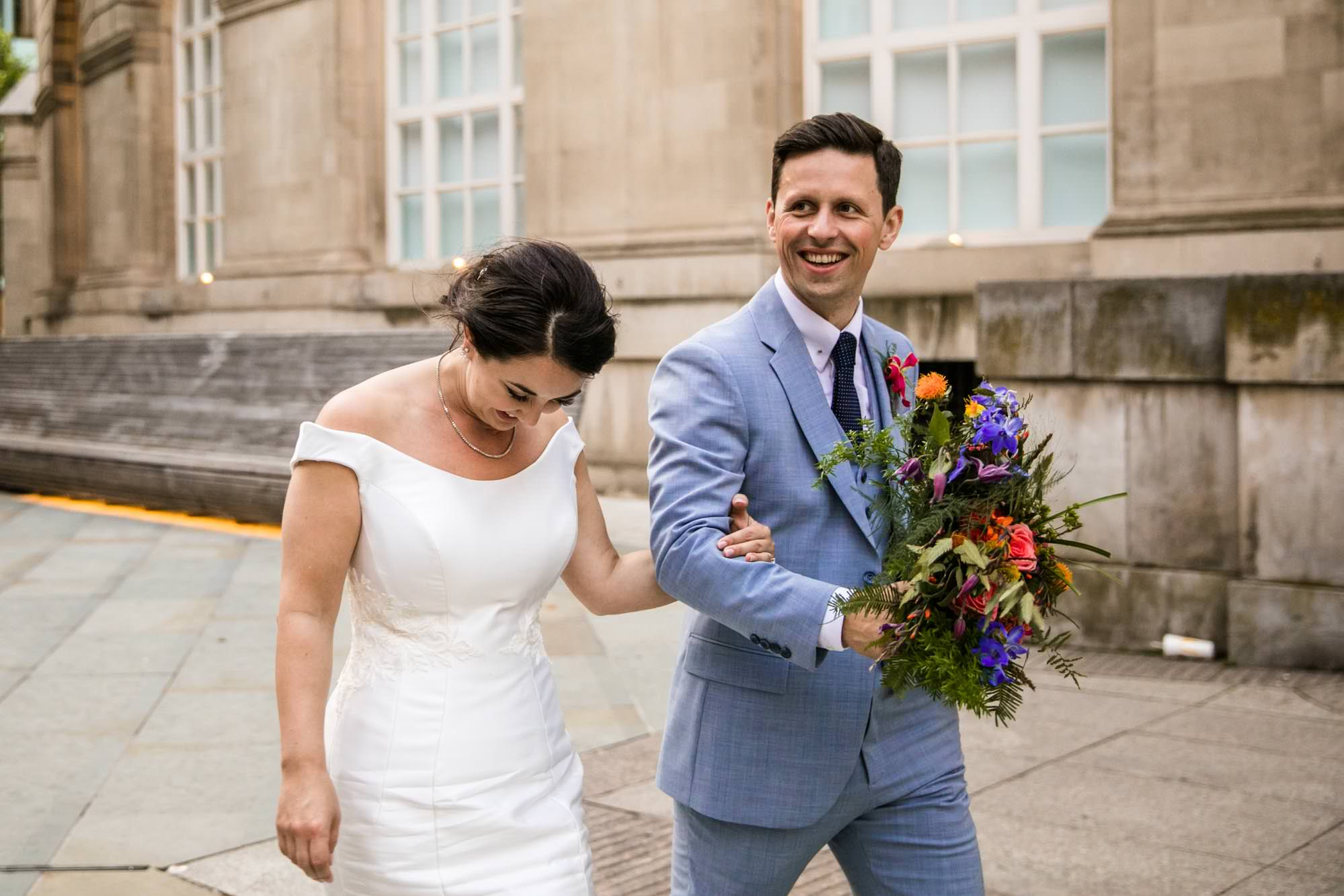 Colourful Wedding Photographs Manchester
