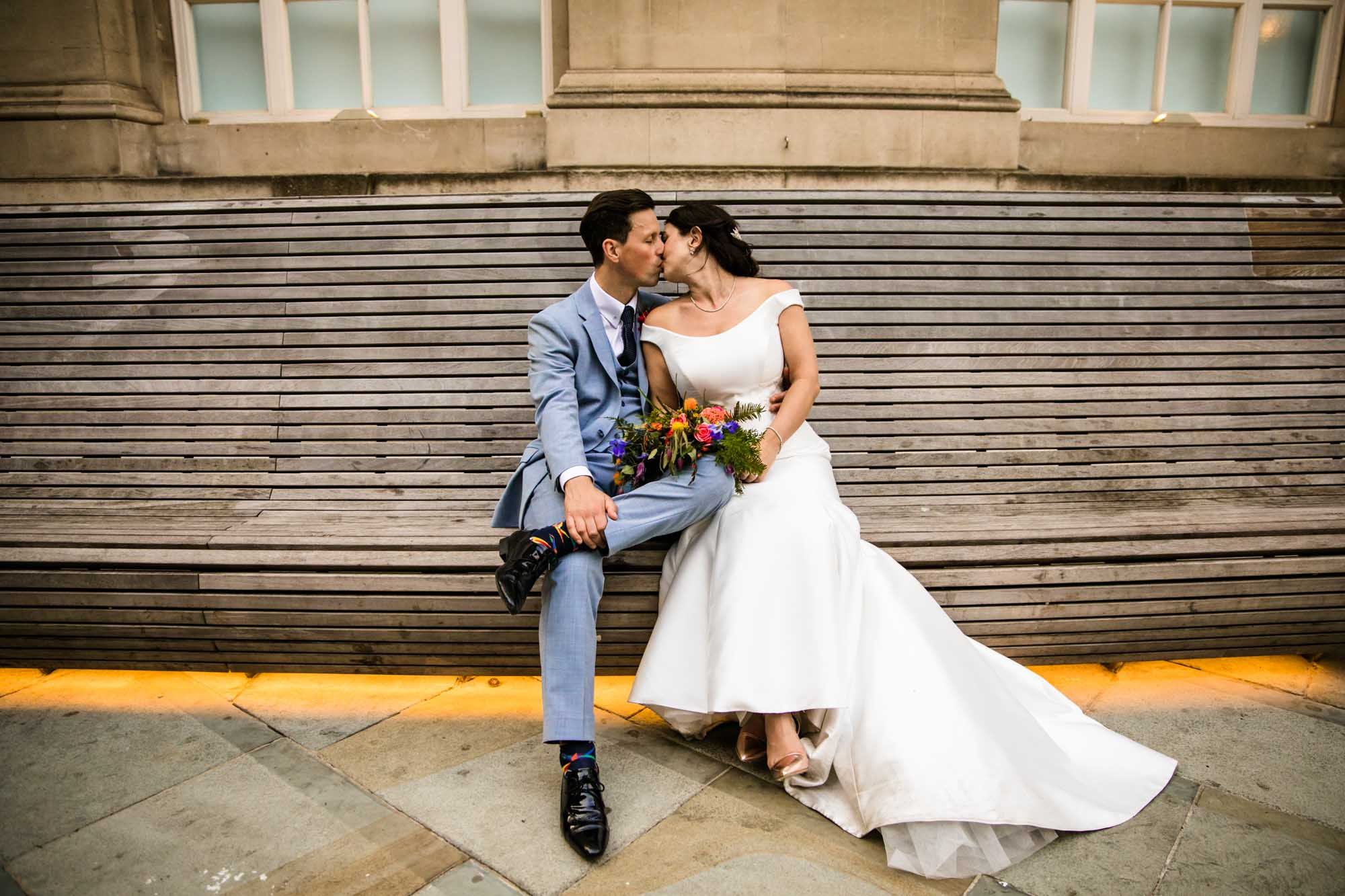 Colourful Wedding Photography Manchester