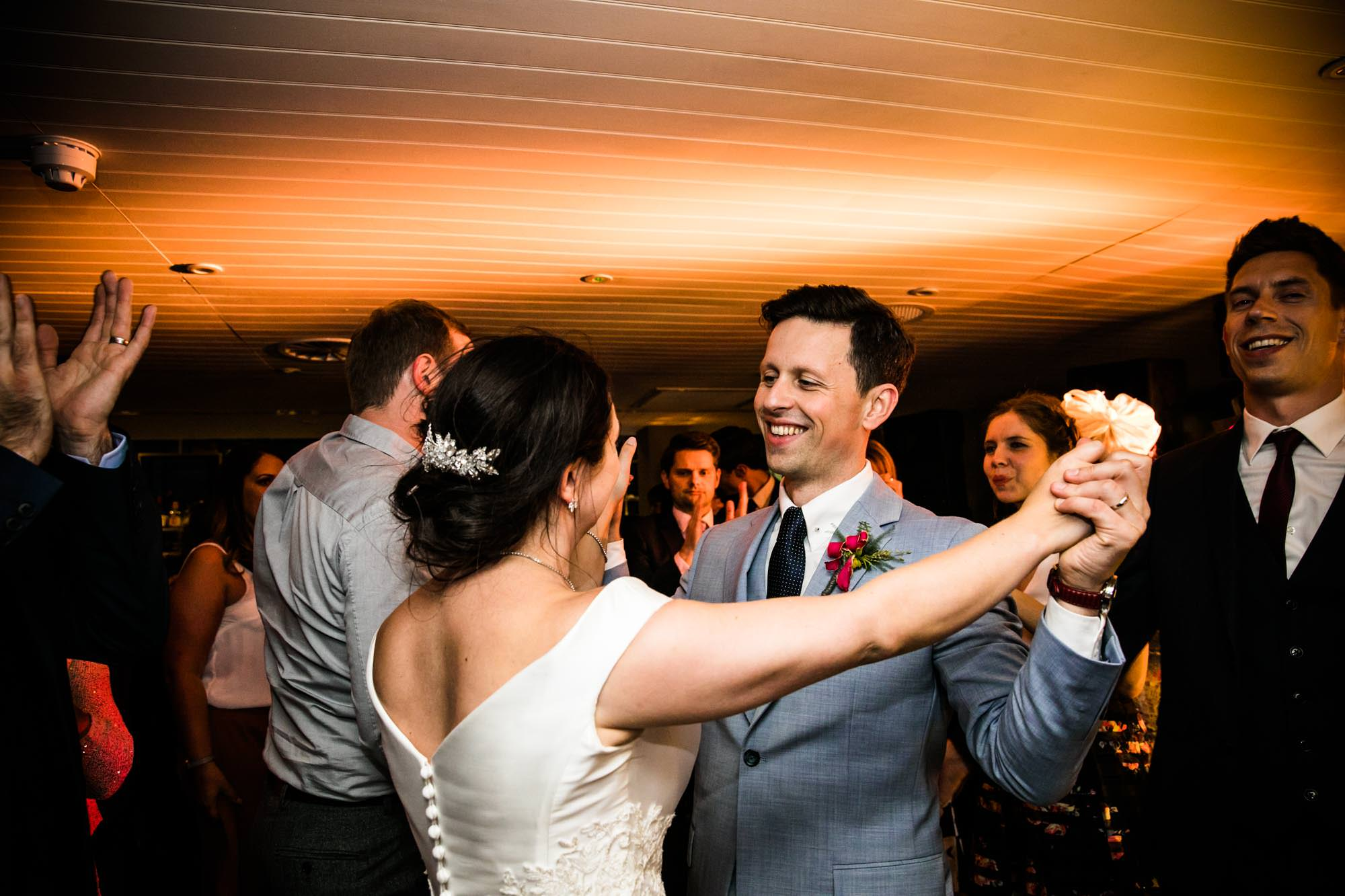 Fun Wedding Photos King Street Townhouse