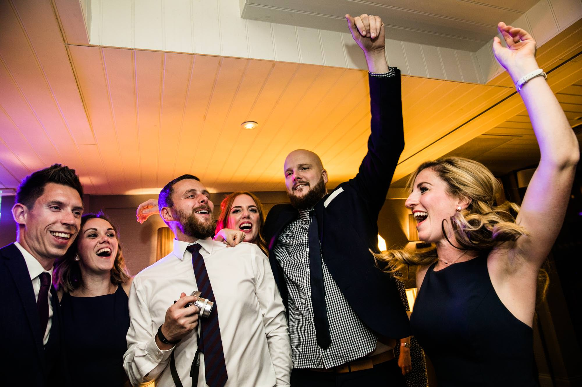 King Street Townhouse Fun Party Wedding Photos