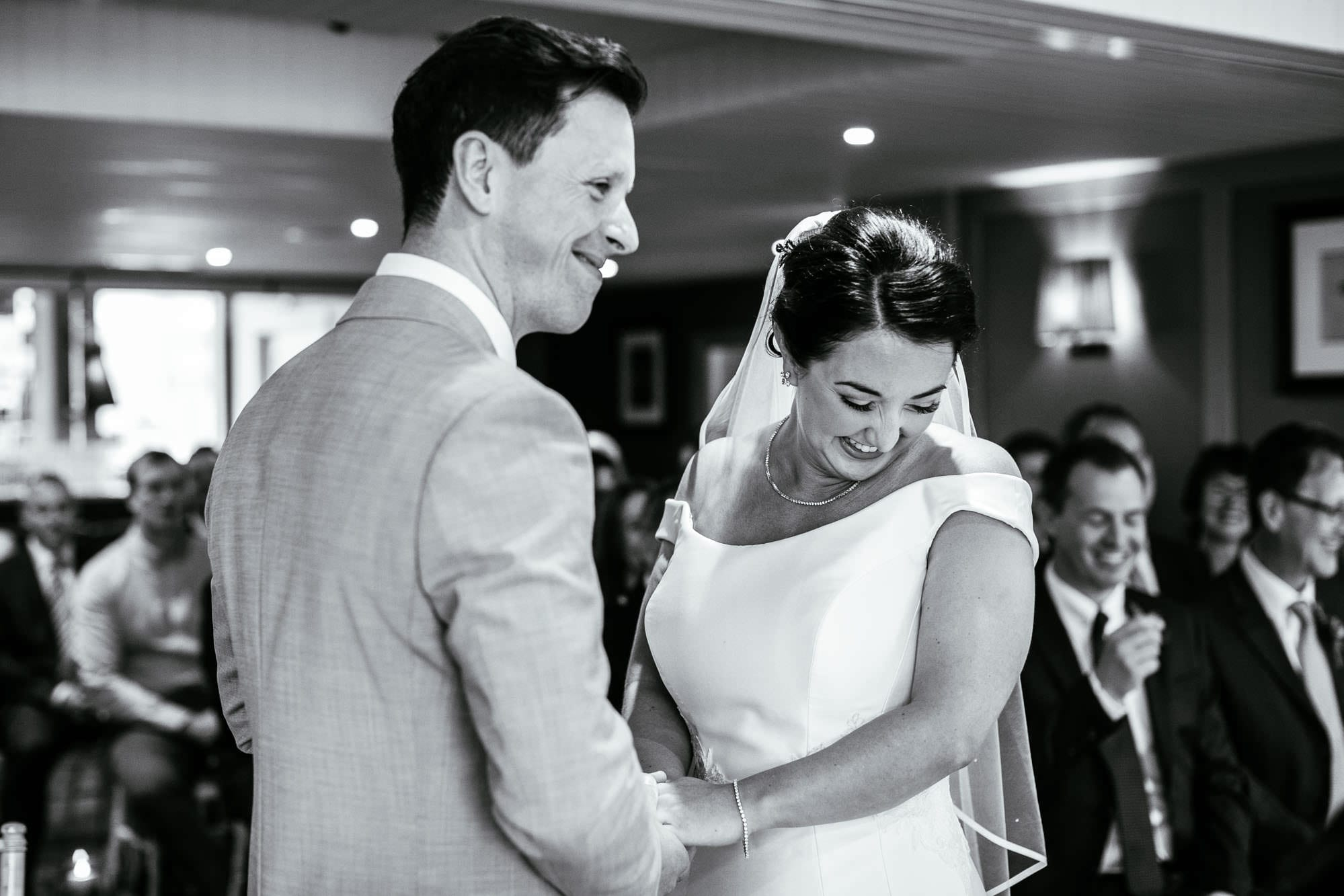 King Street Townhouse Wedding Ceremony Photographer