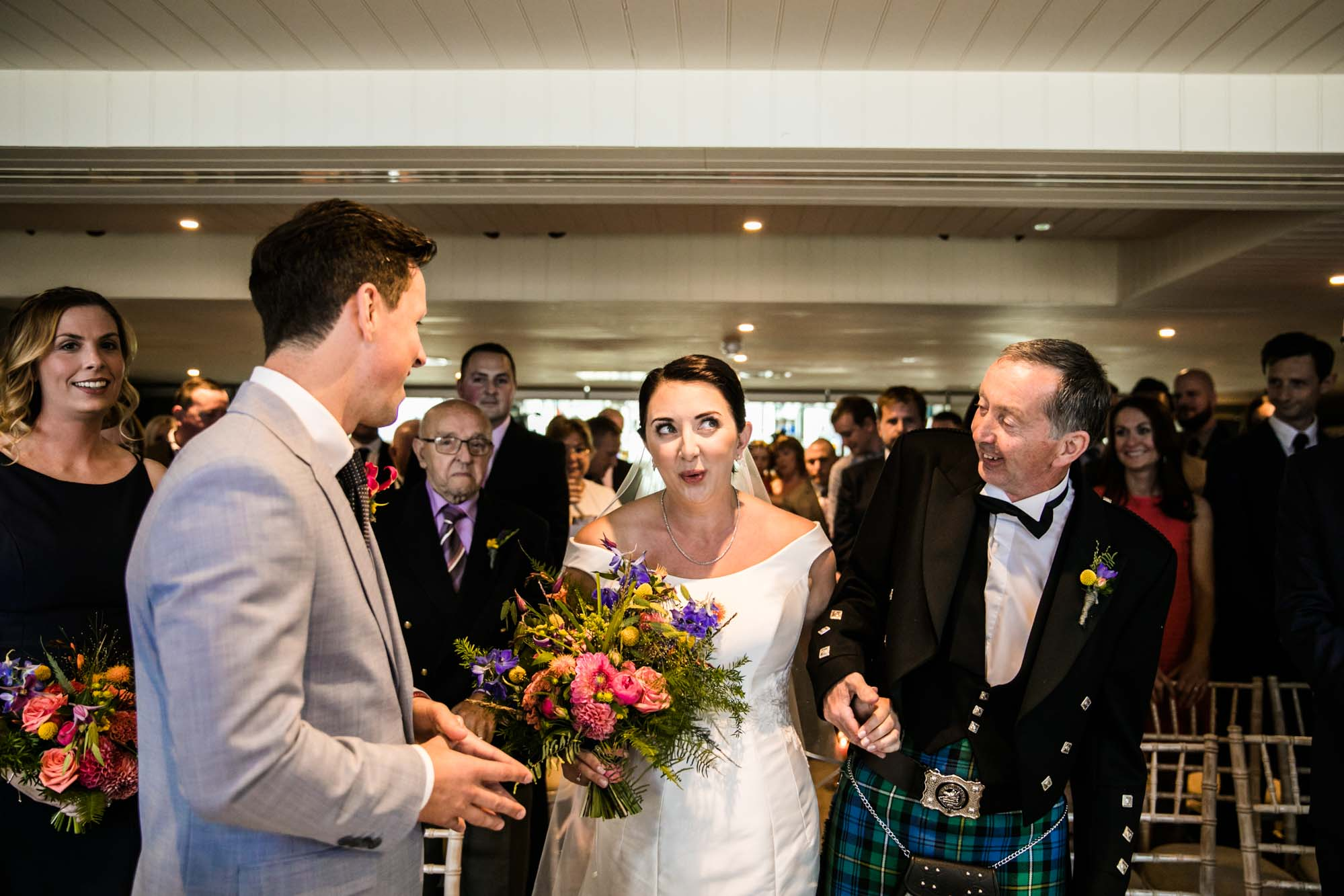 King Street Townhouse Wedding Ceremony Photos