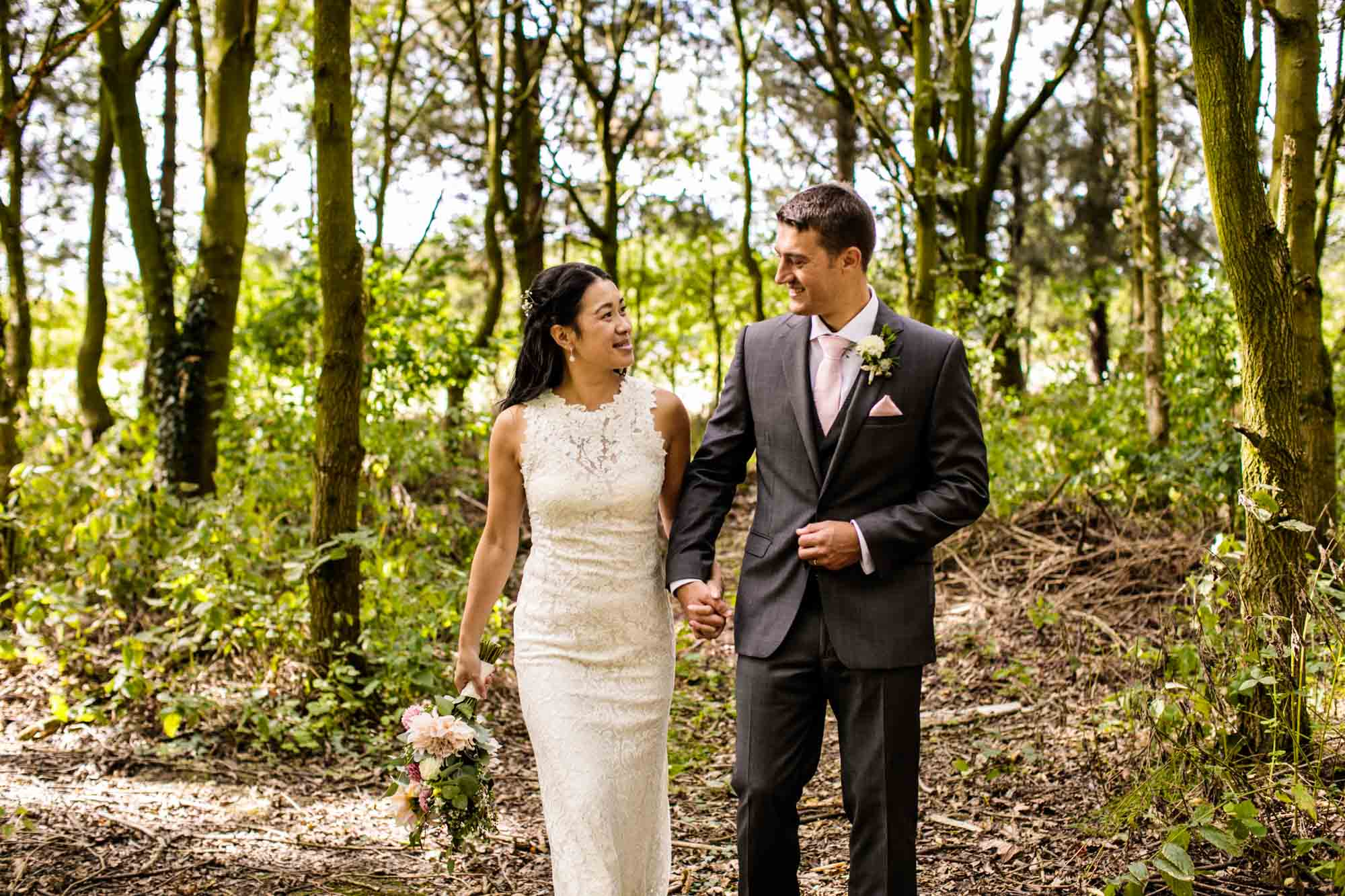 Colourful Wedding Photography Manley Mere