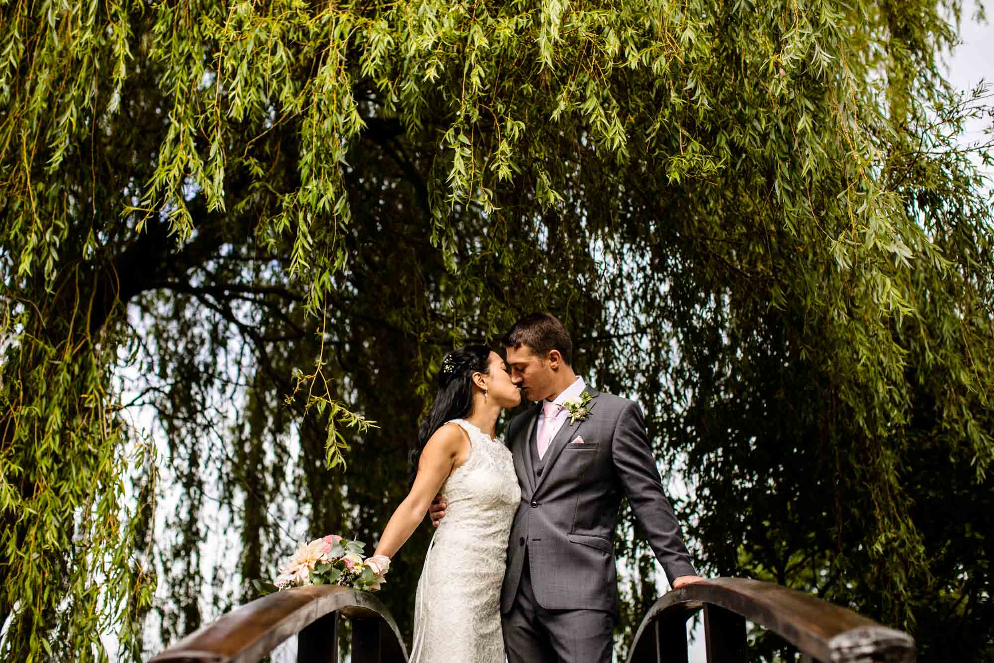 Colourful Wedding Photos Manley Mere