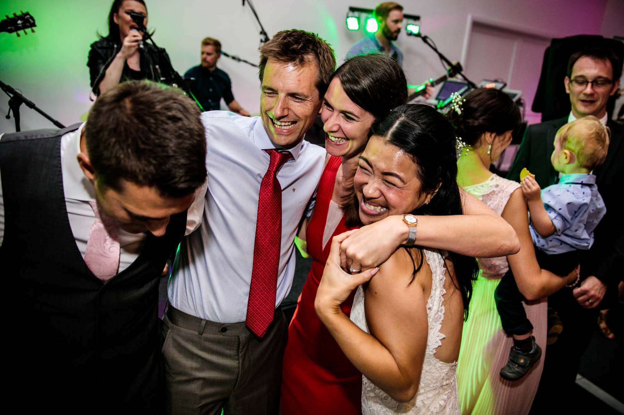 Fun Wedding Photographs Manley Mere