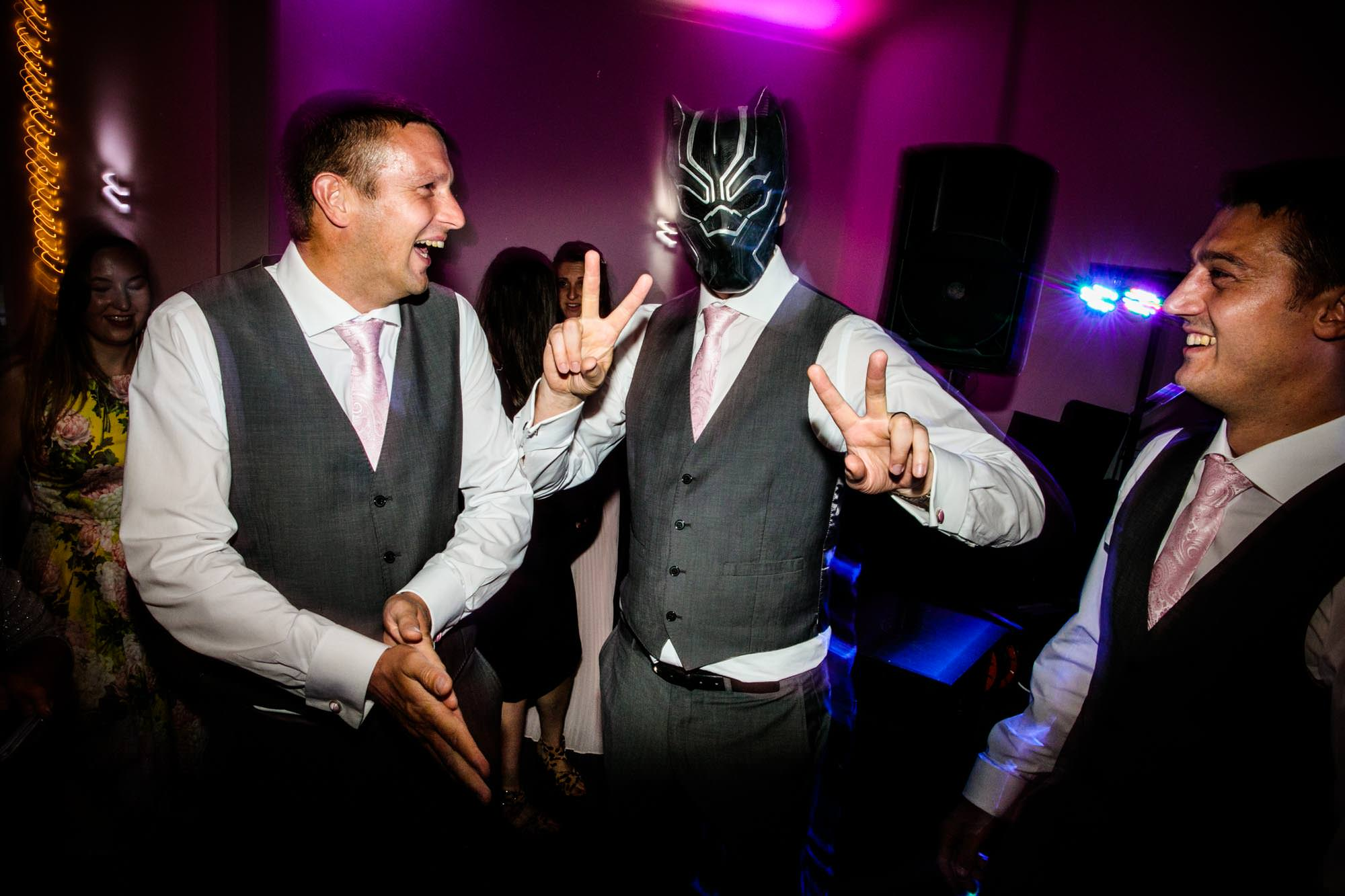 Fun Wedding Photos Manley Mere