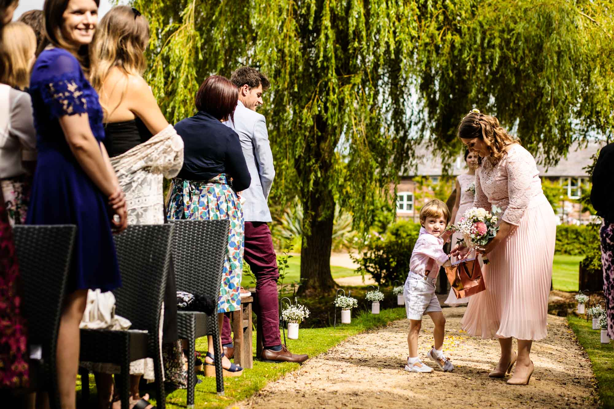Manley Mere Natural Wedding Photographs