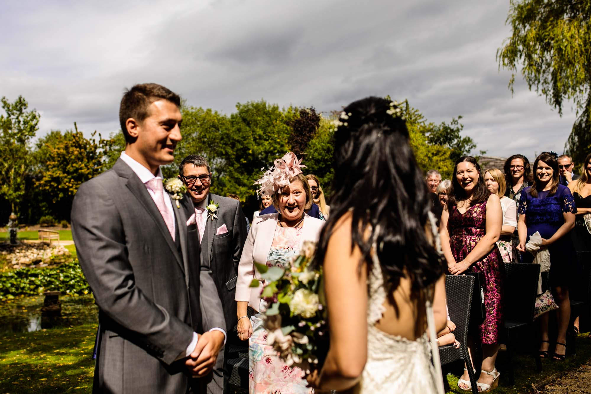 Manley Mere Wedding Ceremony Photography