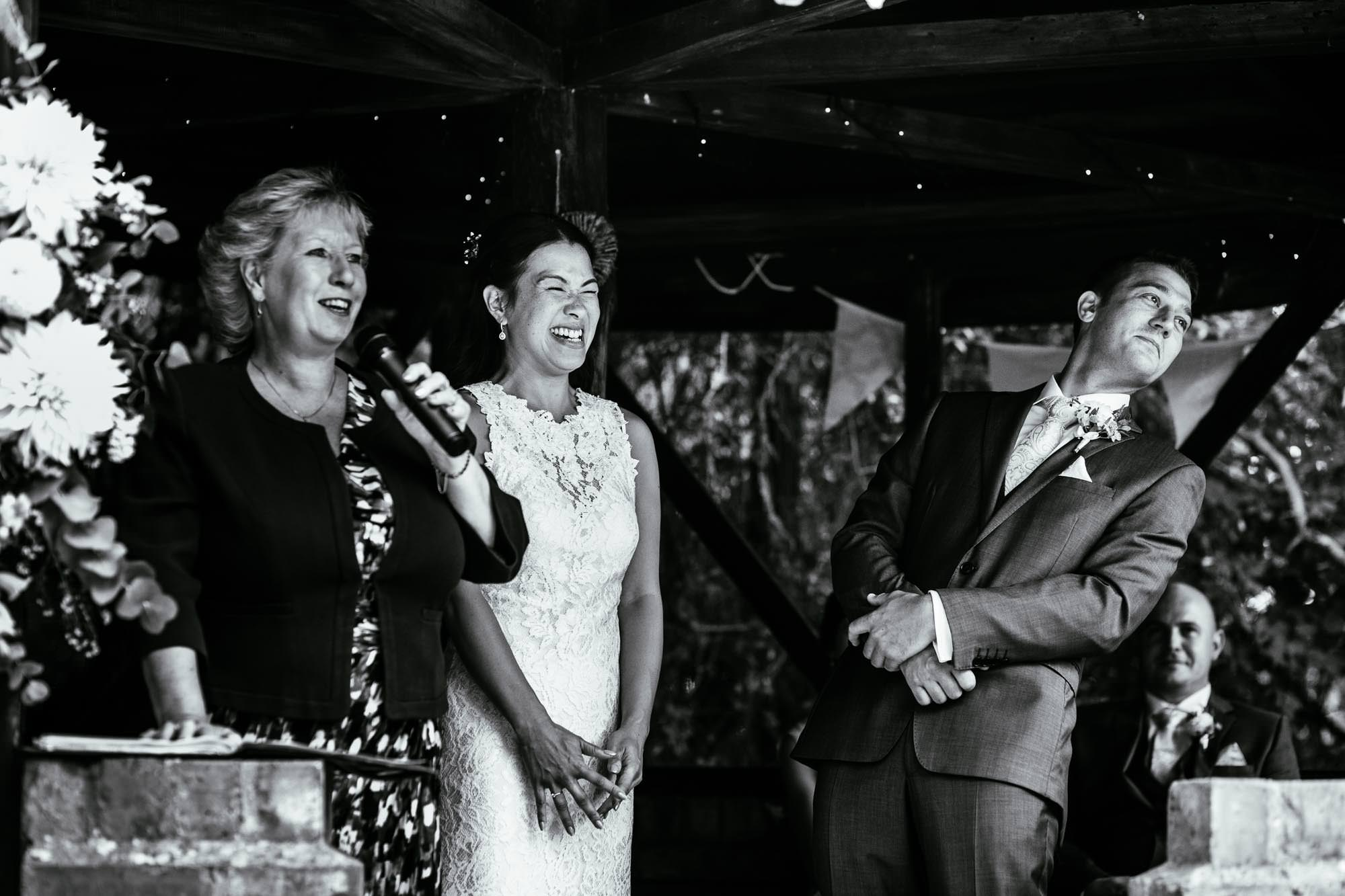 Manley Mere Wedding Ceremony