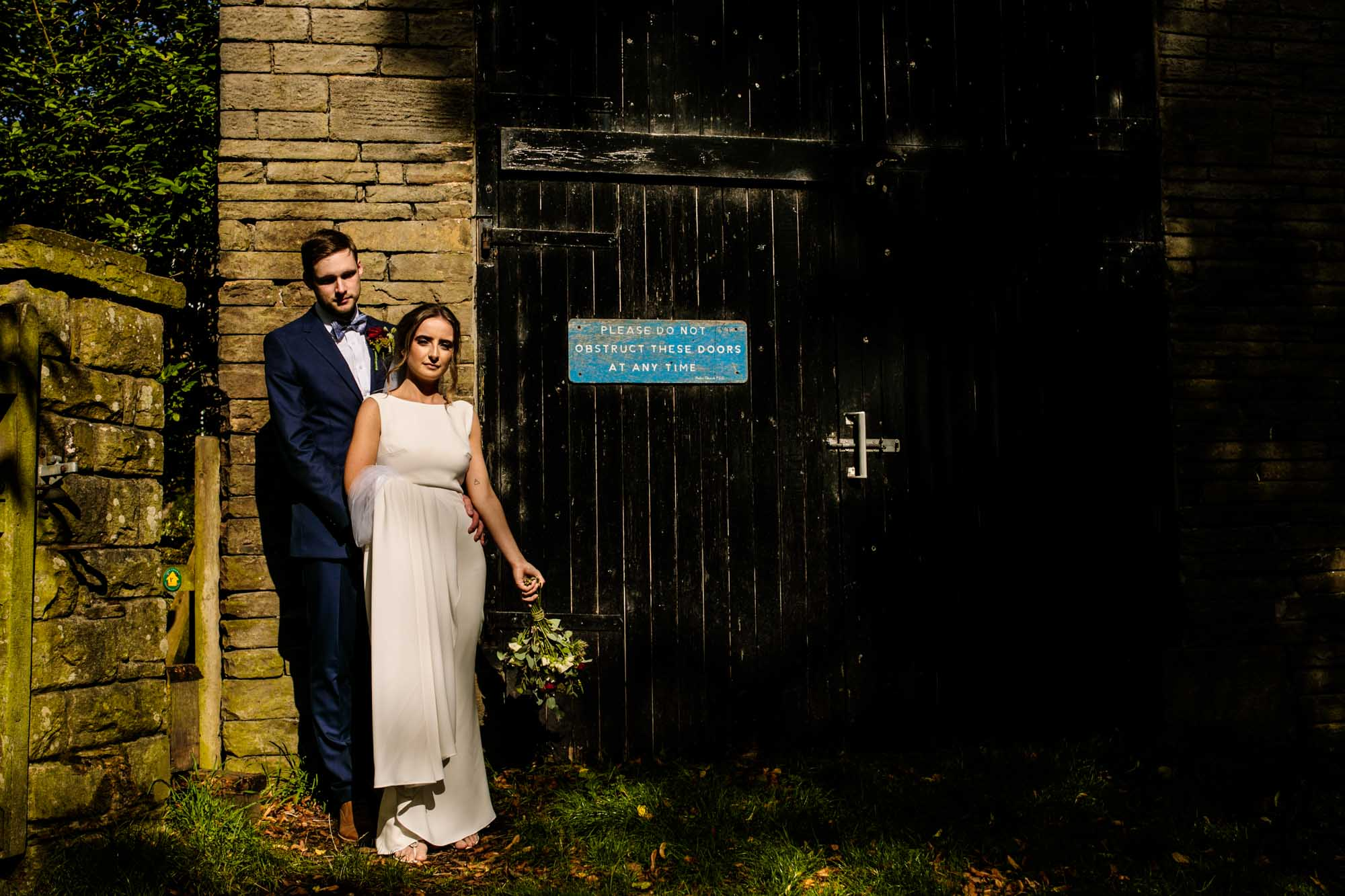 Alternative Wedding Photos Mellor
