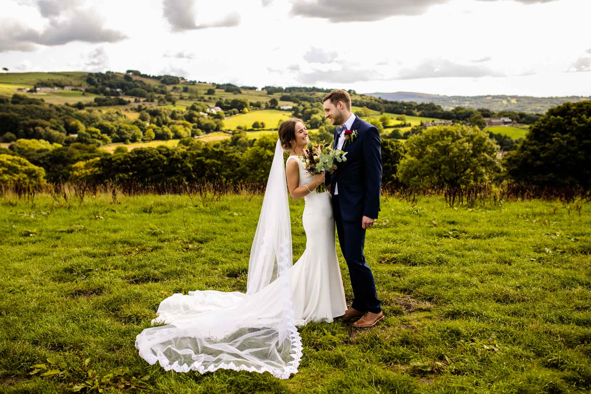 Mellor Field Wedding Photographs