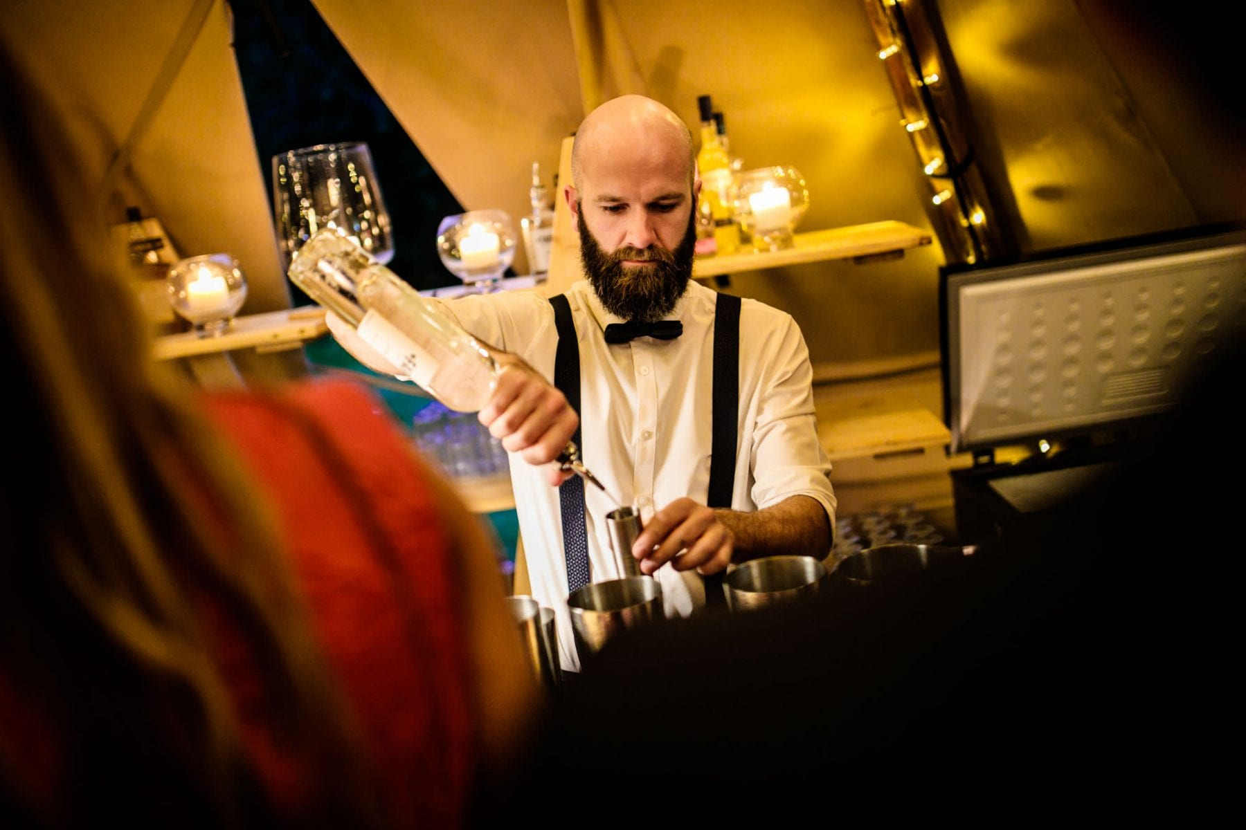 Documentary Tipi Wedding Photographs