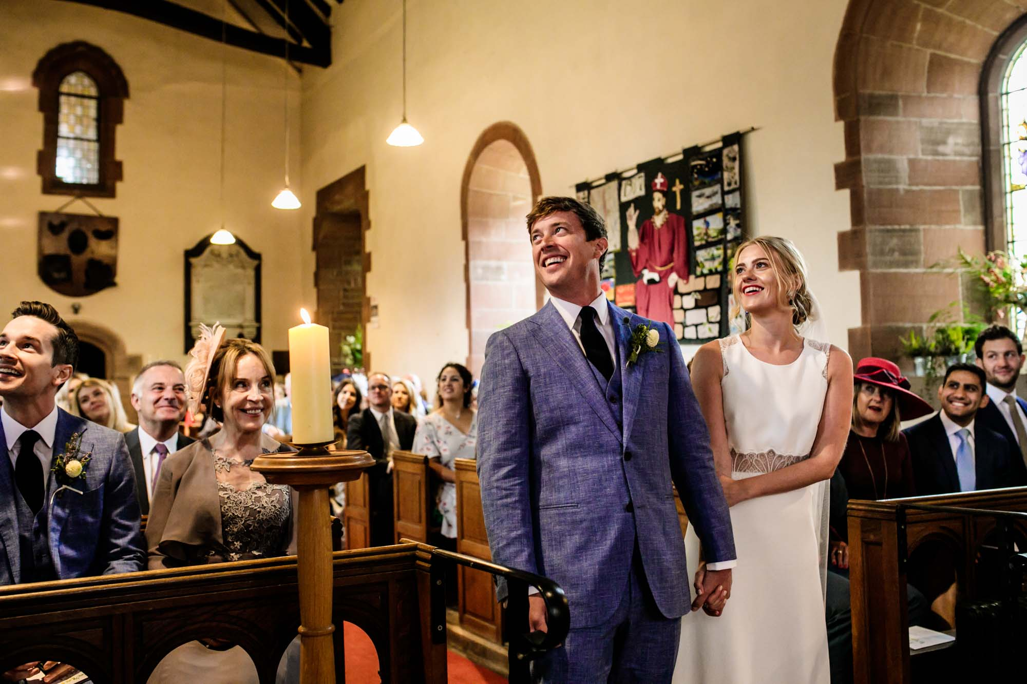 St Cuthberts Great Salkeld Wedding Photos