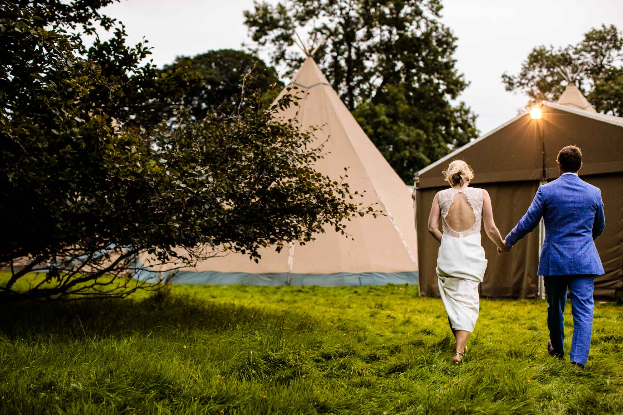 Tipi Wedding Cumbria