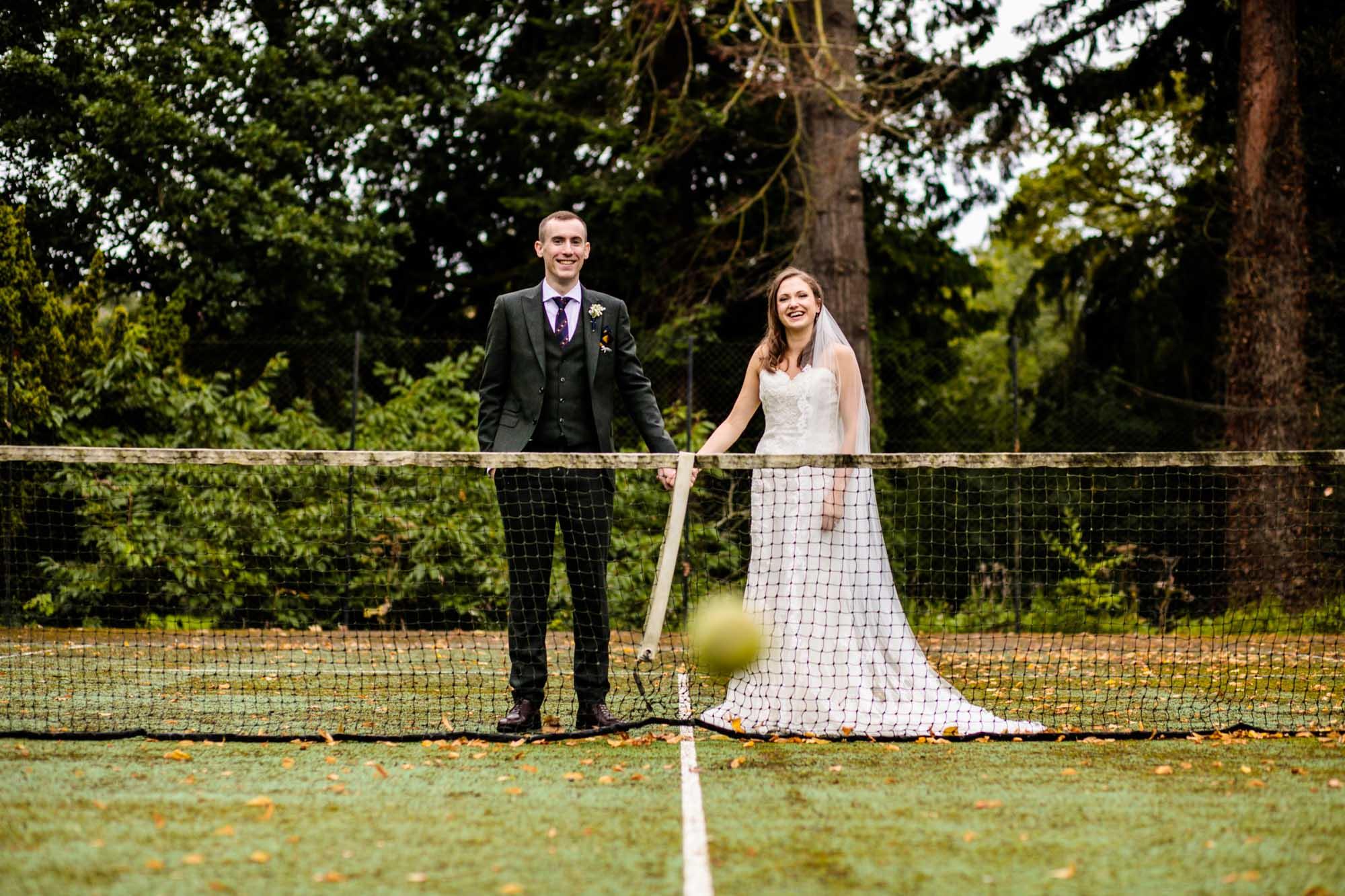 Fun Wedding Photographs Plas Dinam