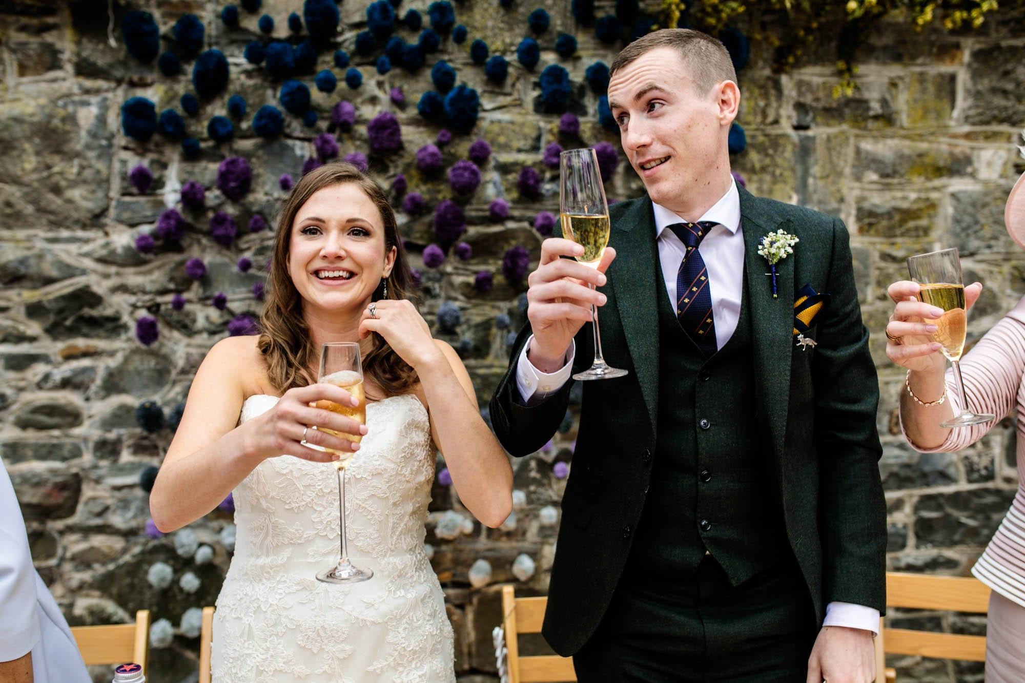 Natural Wedding Photographs Plas Dinam