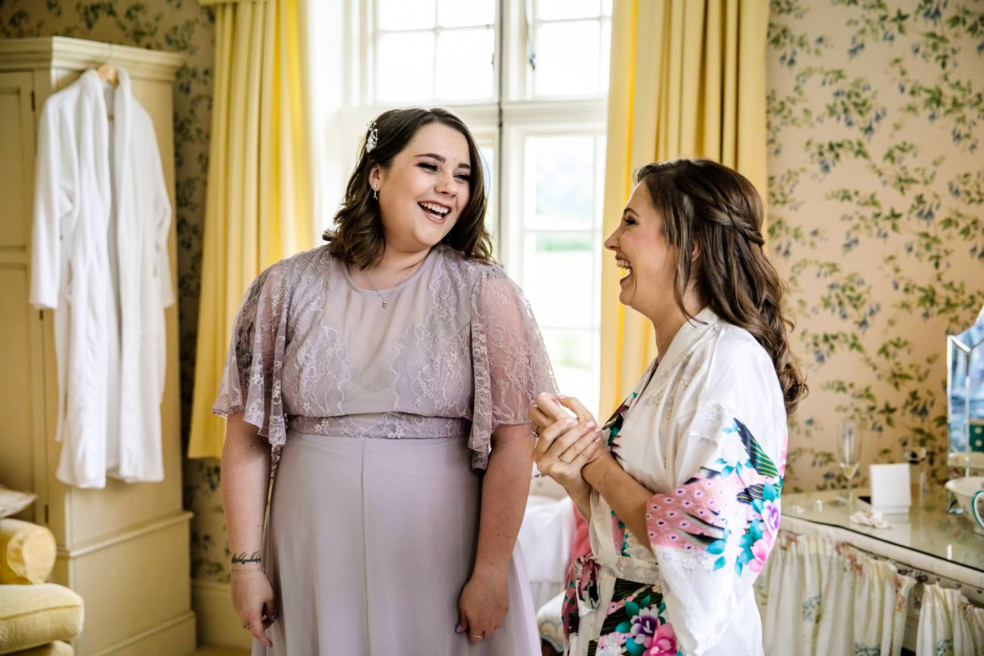 Plas Dinam Documentary Wedding Photographs