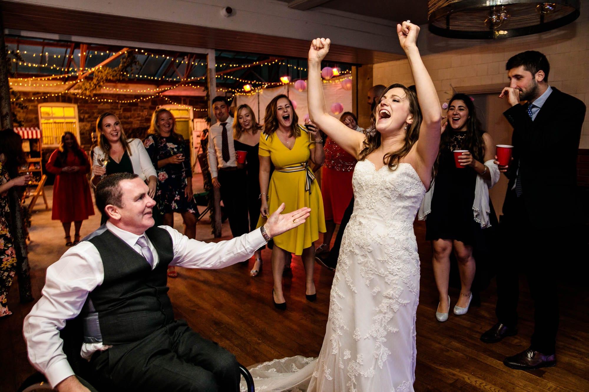 Plas Dinam Fun Wedding Photographs