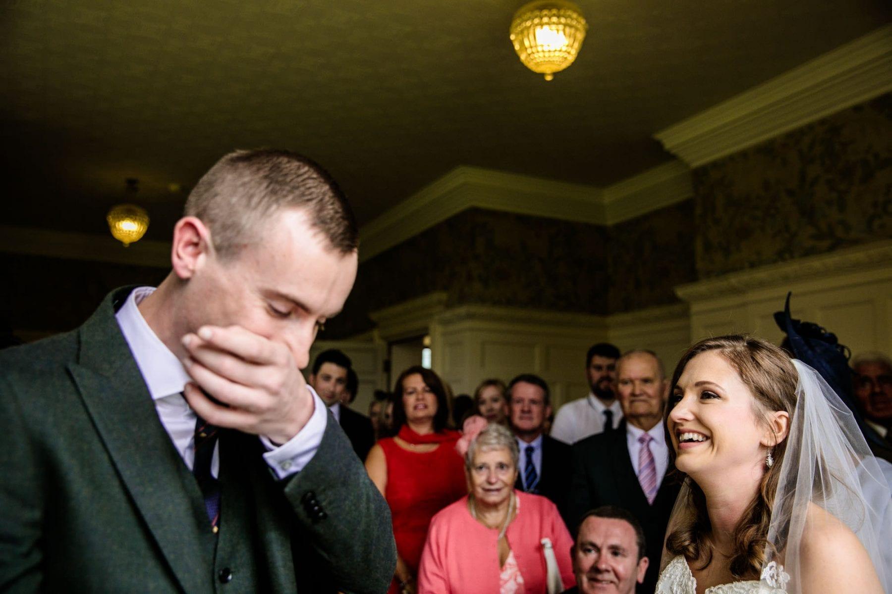 Plas Dinam Wedding Ceremony Photographer