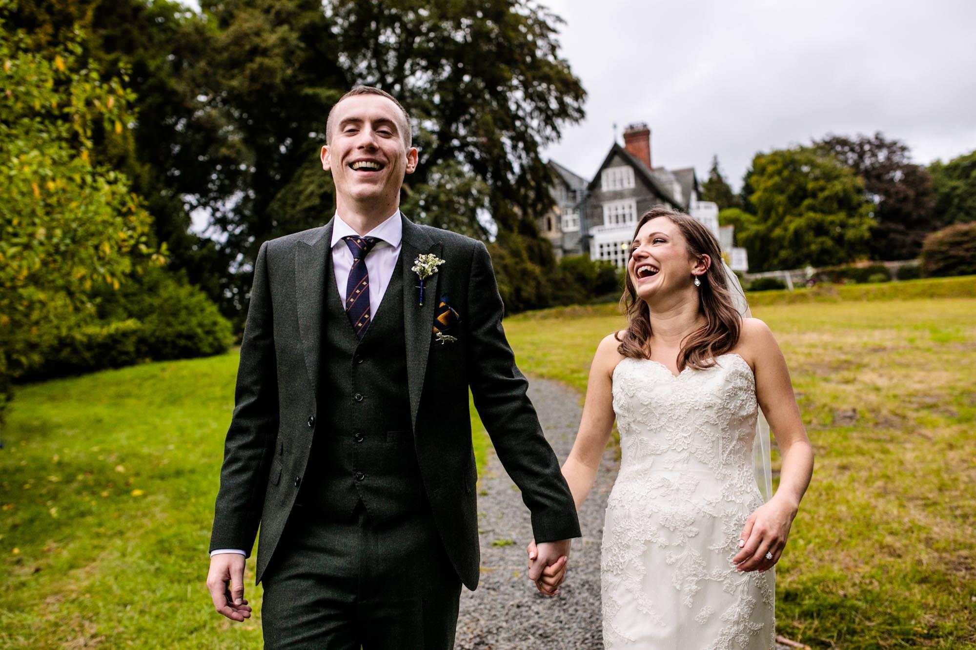 Plas Dinam Wedding Photographs