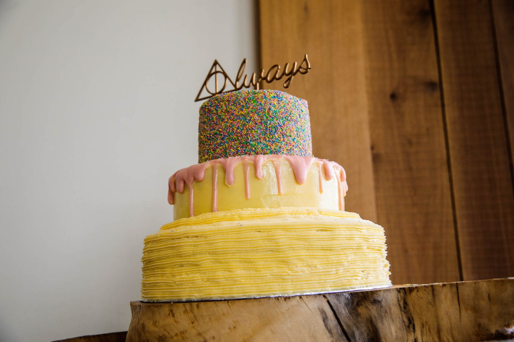 The Out Barn Wedding Cake