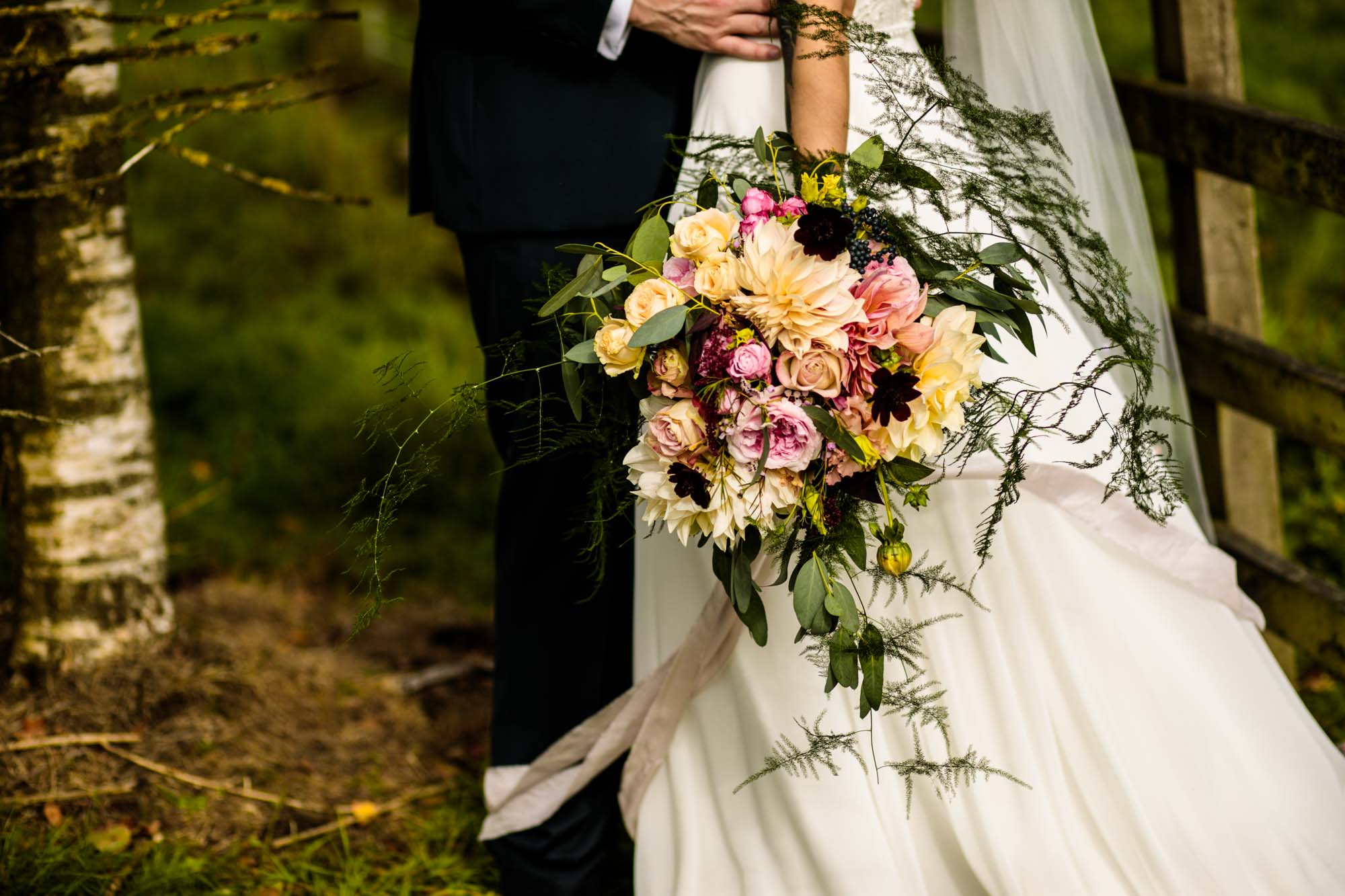 The Out Barn Wedding Flowers