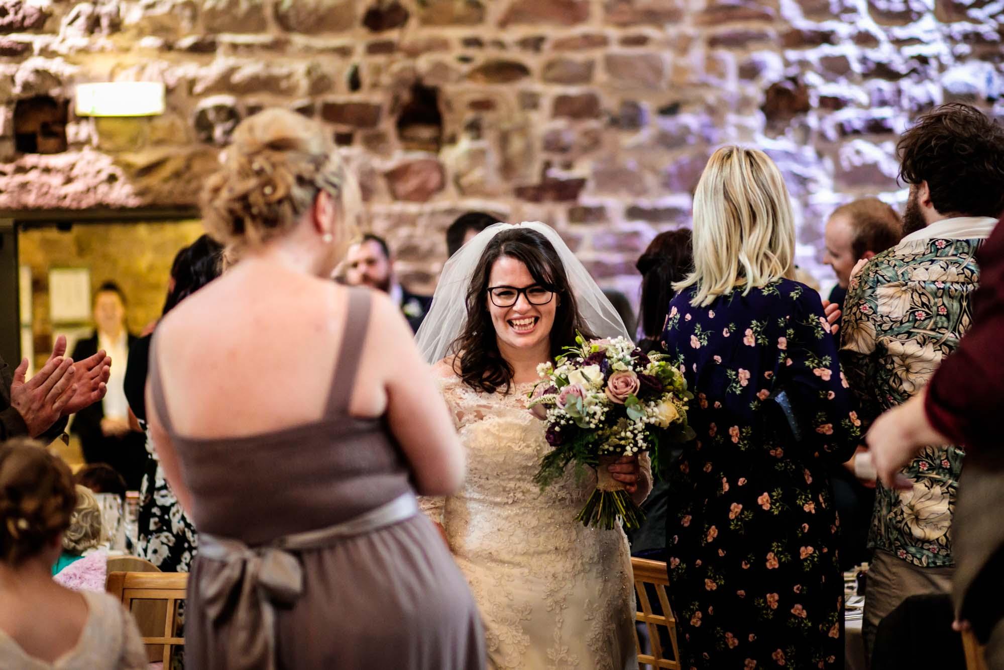 Ashes Barns Natural Wedding Photography