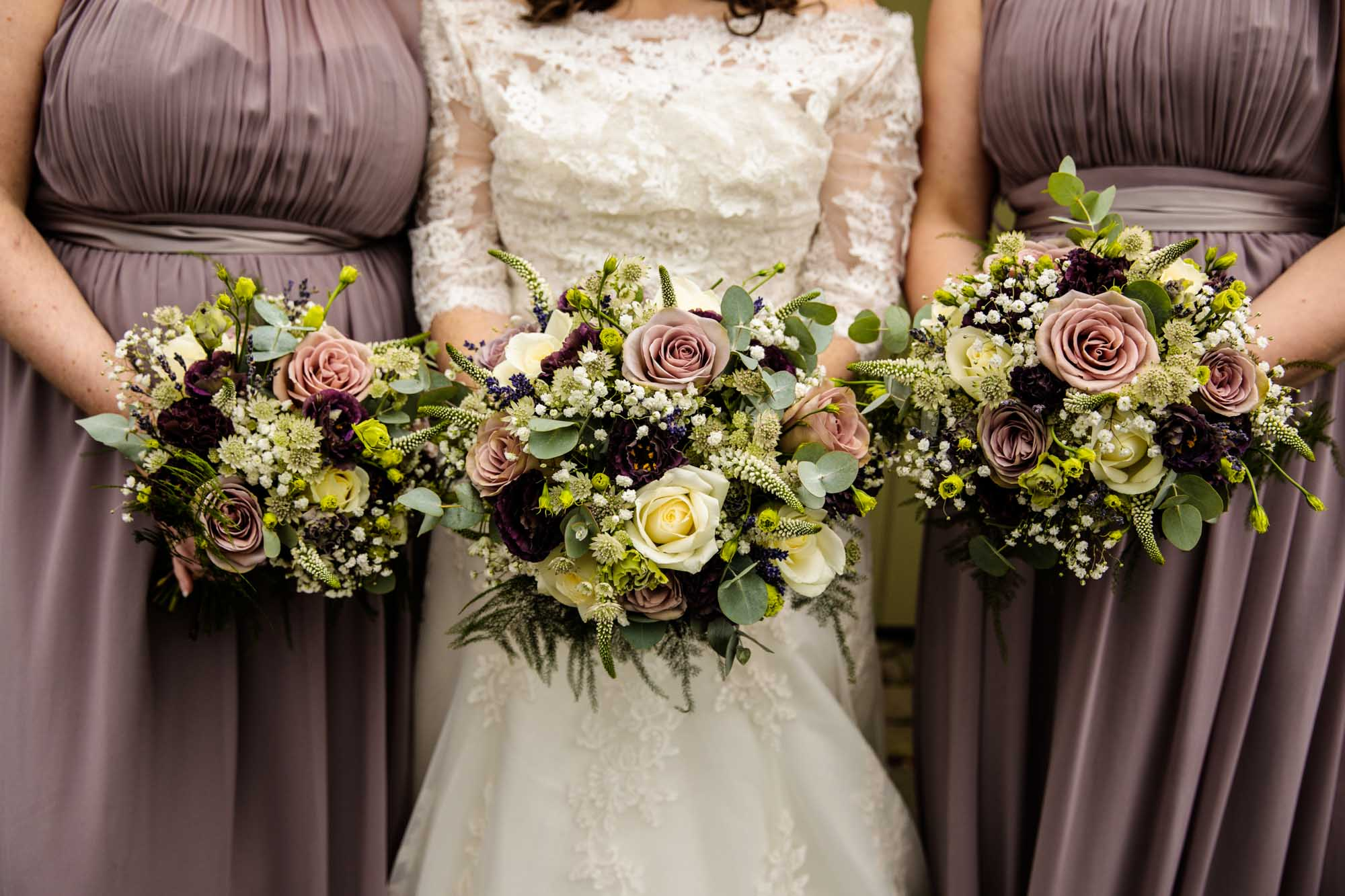 Ashes Barns Wedding Bouquets