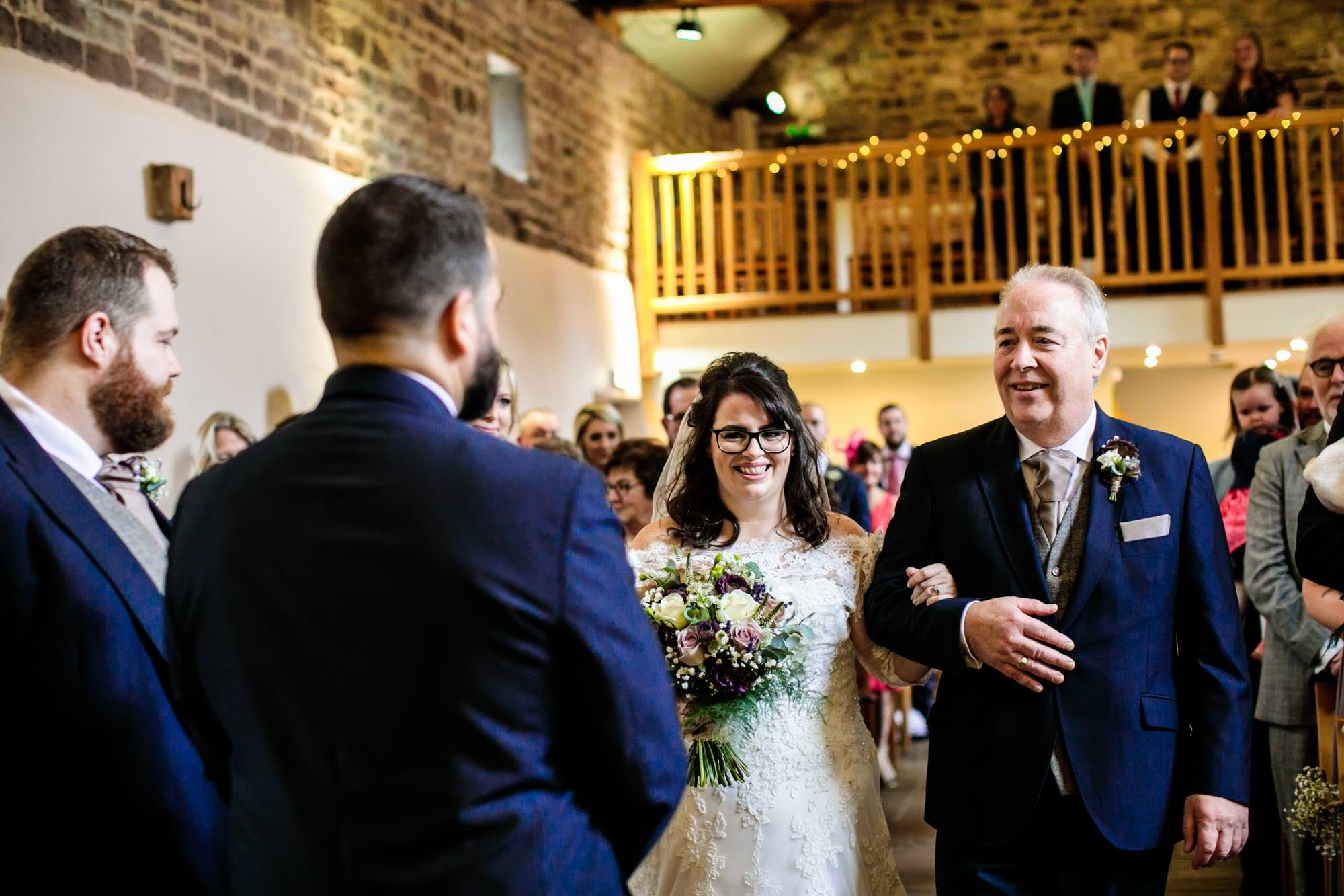 Ashes Barns Wedding Ceremony