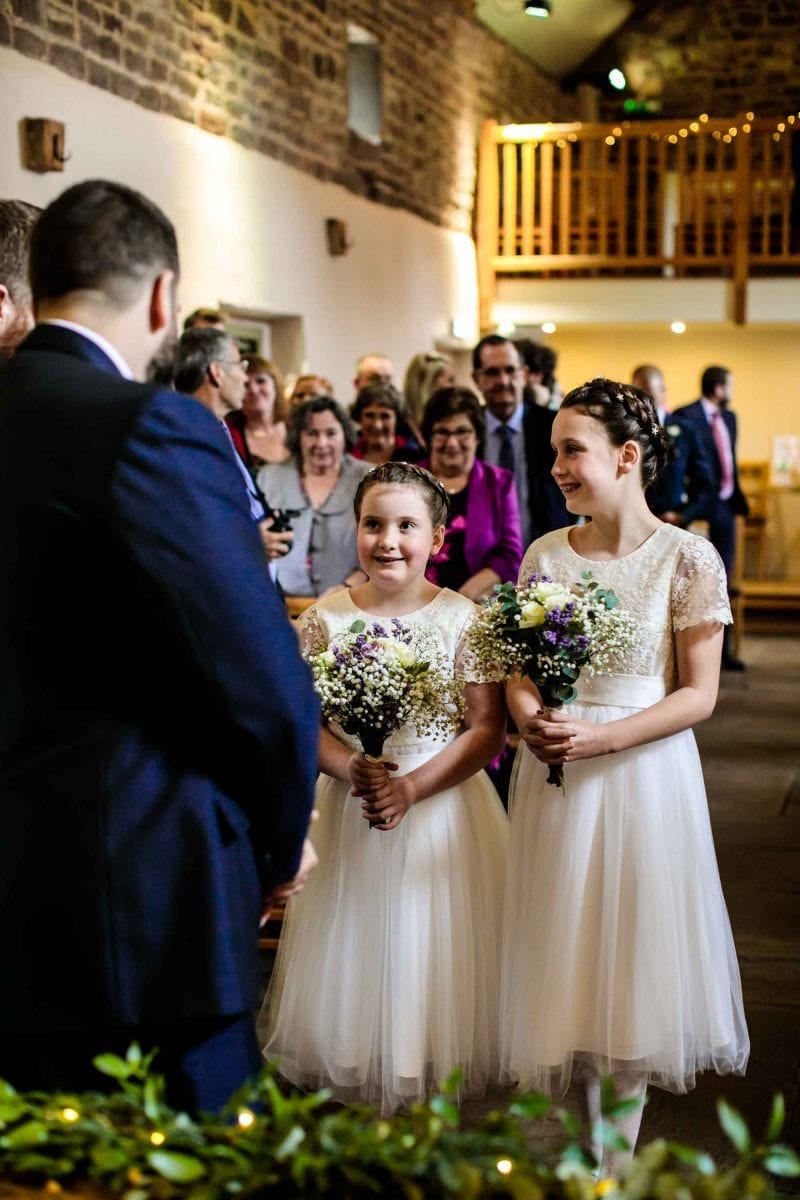 Natural Wedding Photos Ashes Barns