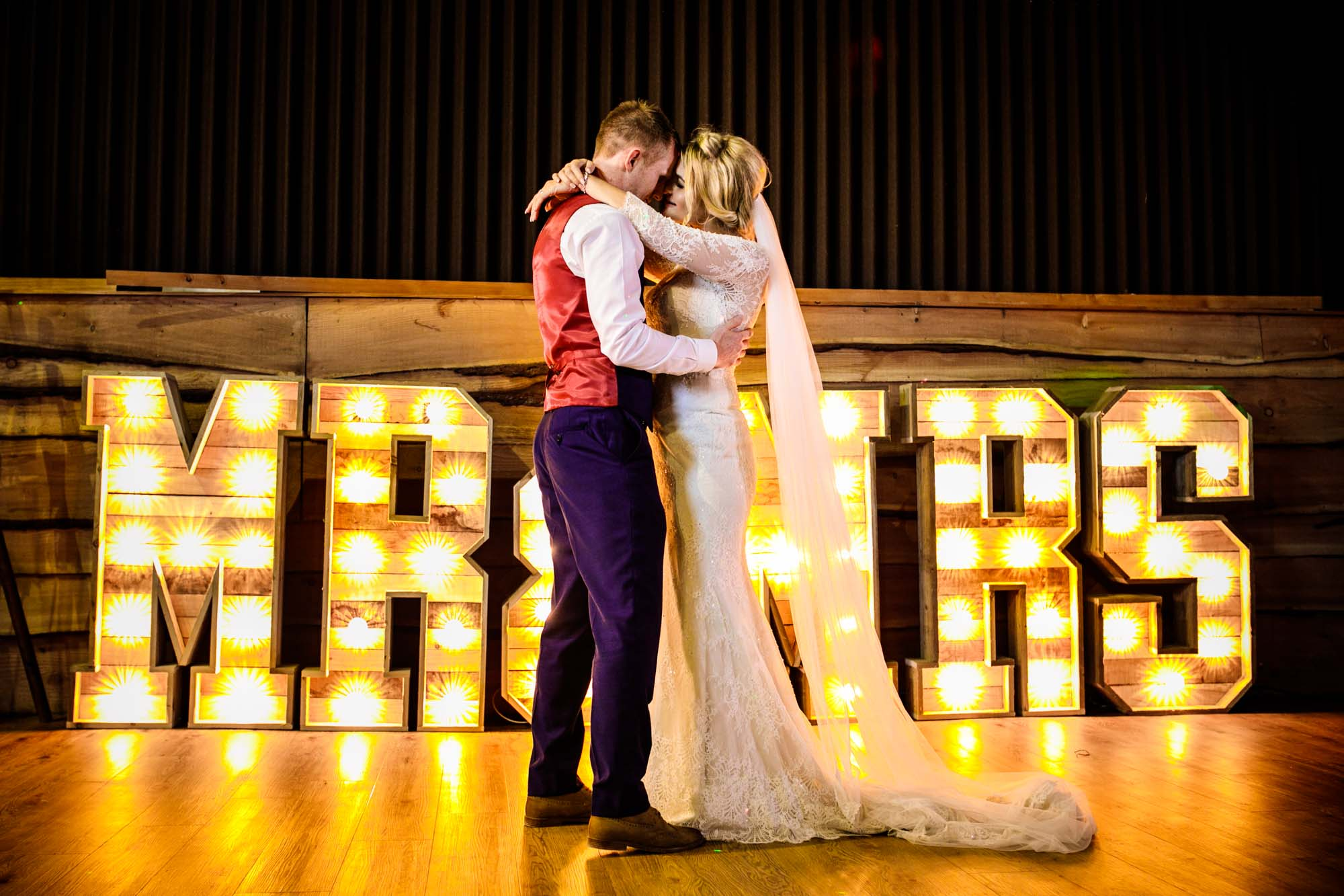 First Dance Stock Farm Wedding Barn