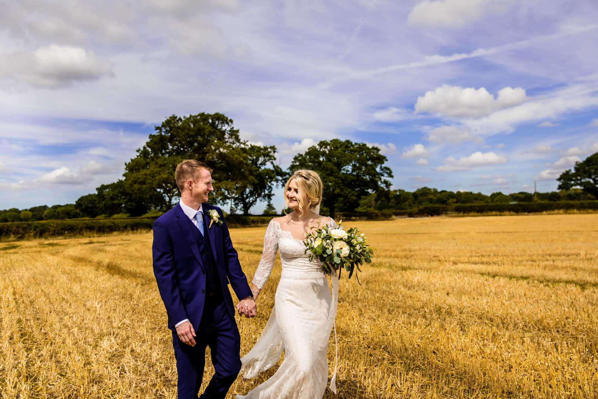 Stock Farm Wedding Barn Colourful Photographer