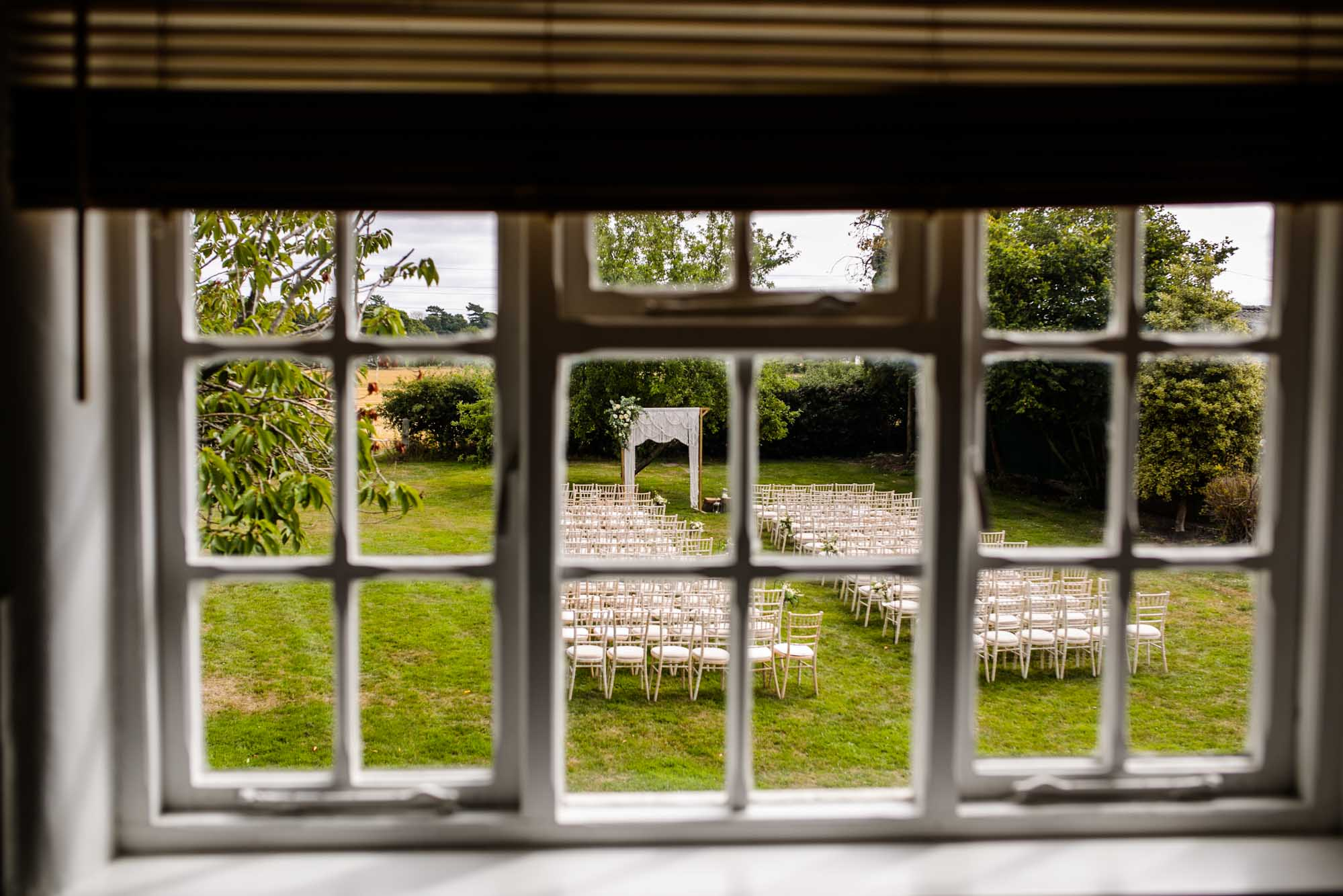 Stock Farm Wedding Barn Outdoor Ceremony